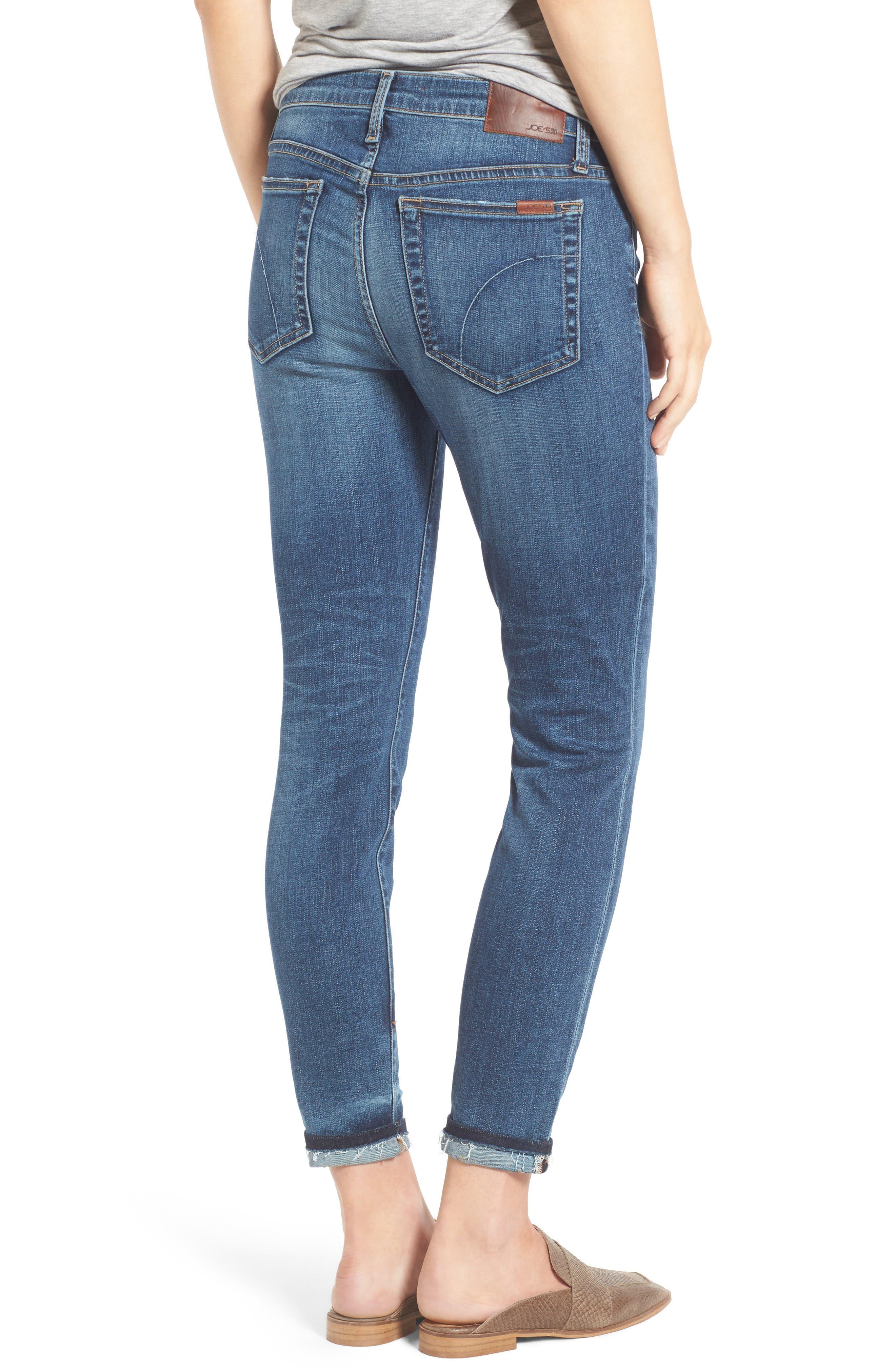 Alternate Image 2  - Joe's Markie Crop Skinny Jeans (Breanna)