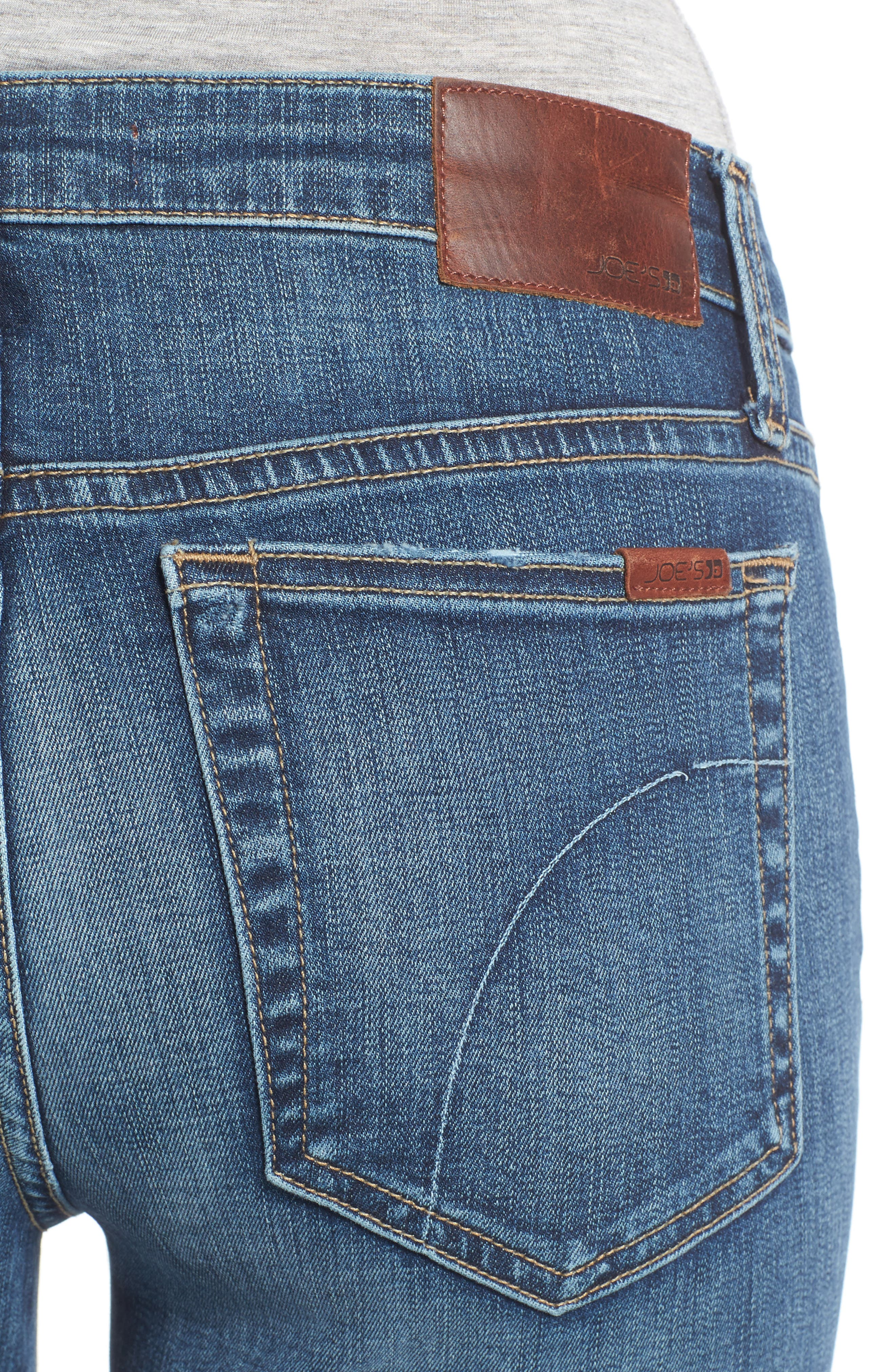 Alternate Image 4  - Joe's Markie Crop Skinny Jeans (Breanna)