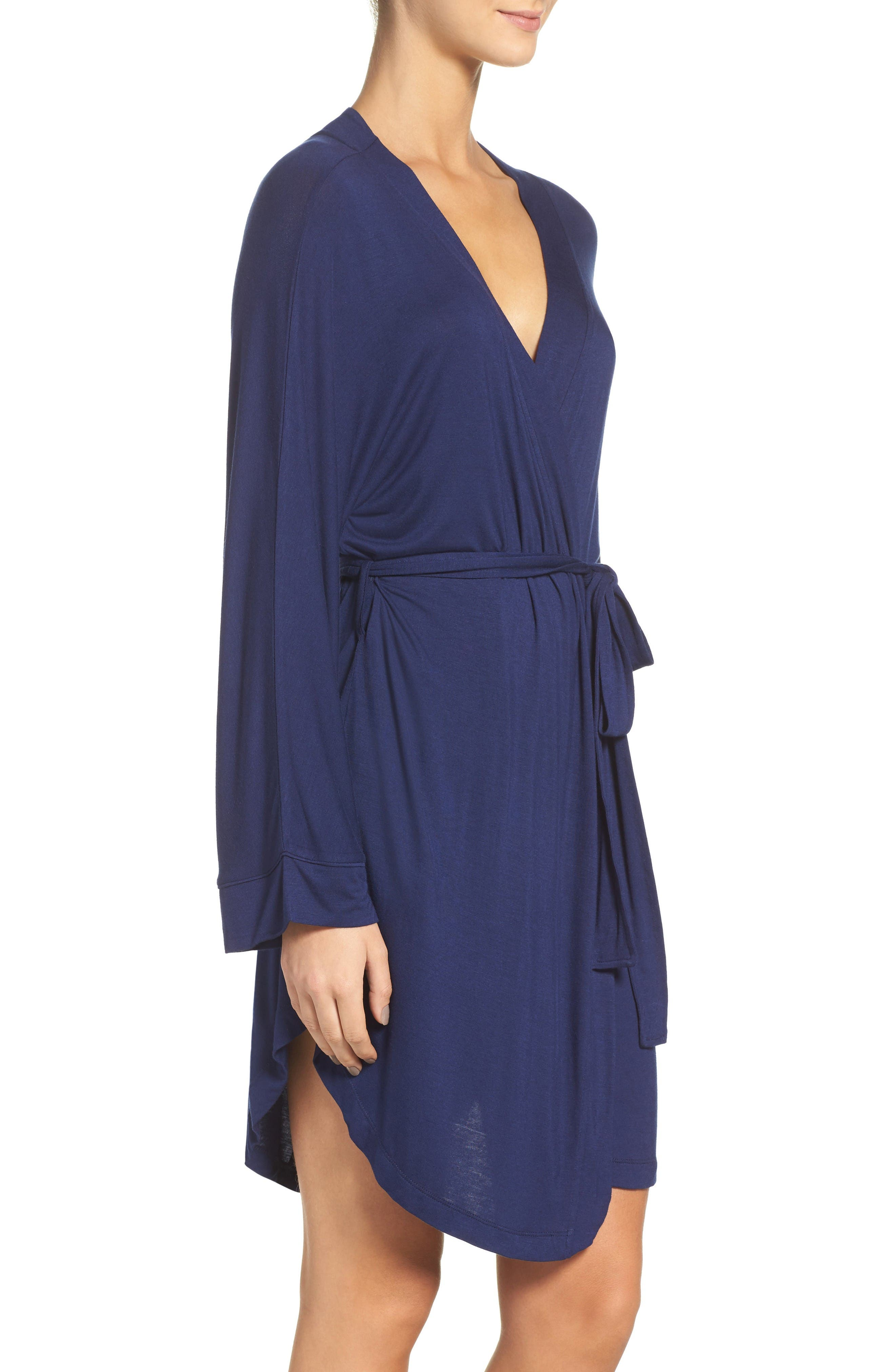 Alternate Image 3  - Honeydew Intimates All American Jersey Robe (2 for $60)