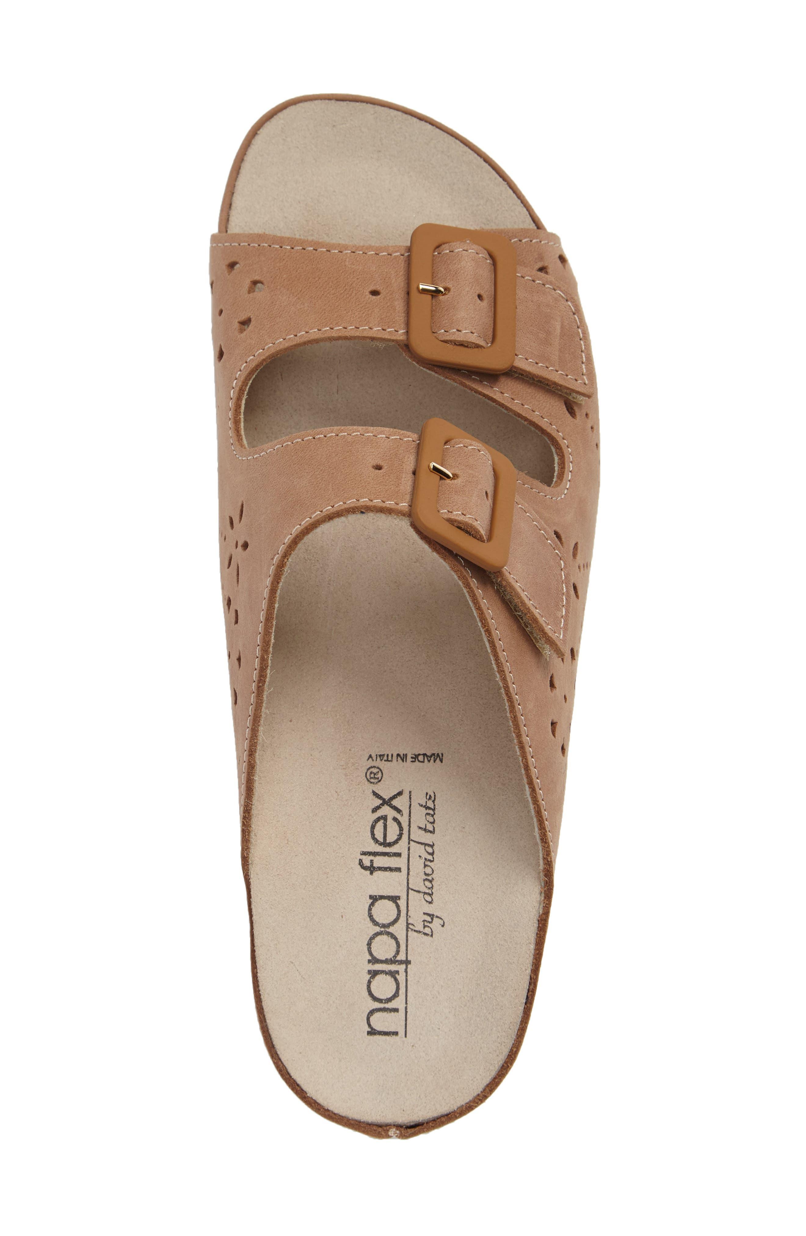 Alternate Image 3  - Napa Flex Double Strap Slide Sandal (Women)
