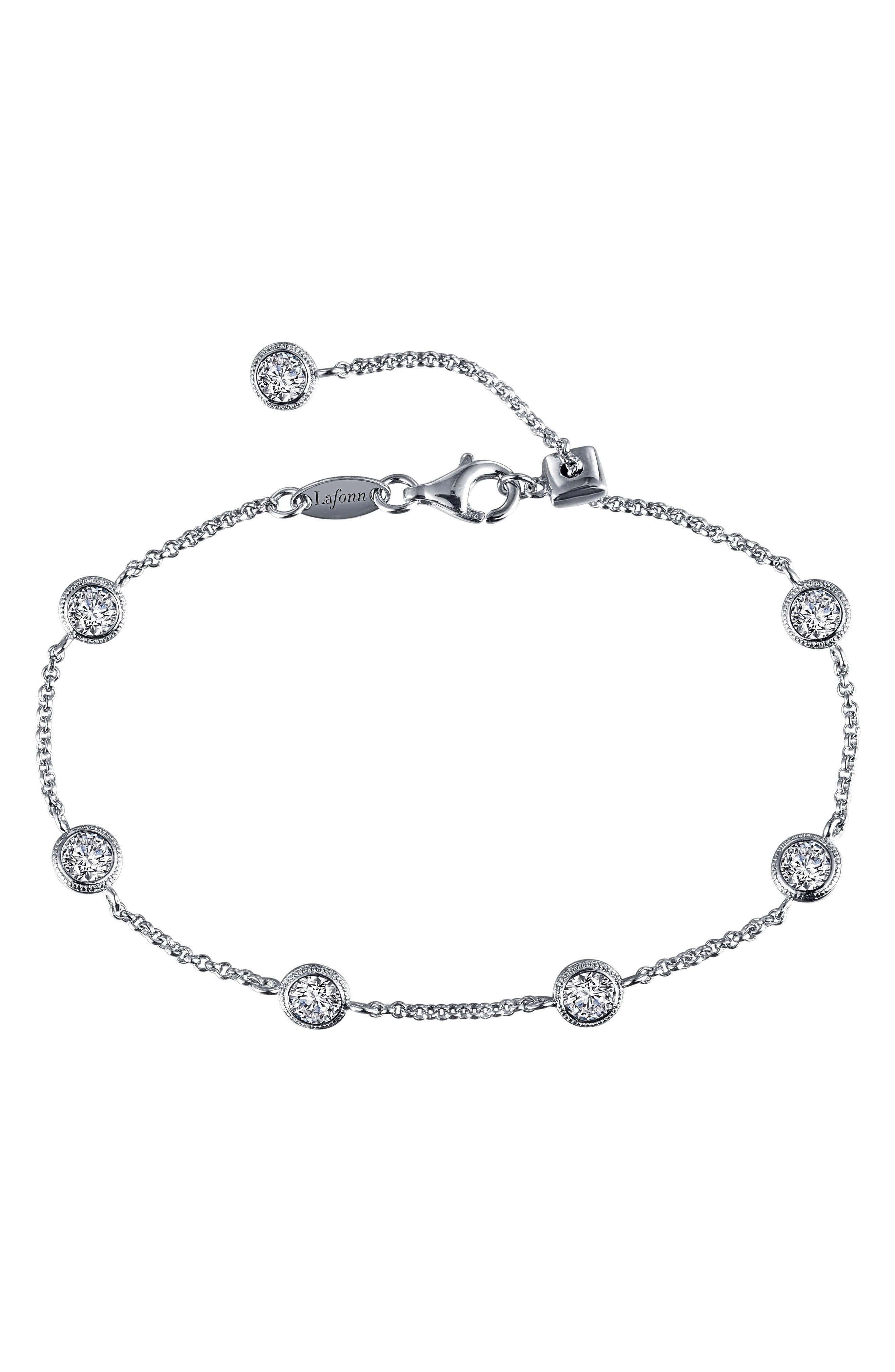 Lafonn Simulation Diamond Station Bracelet