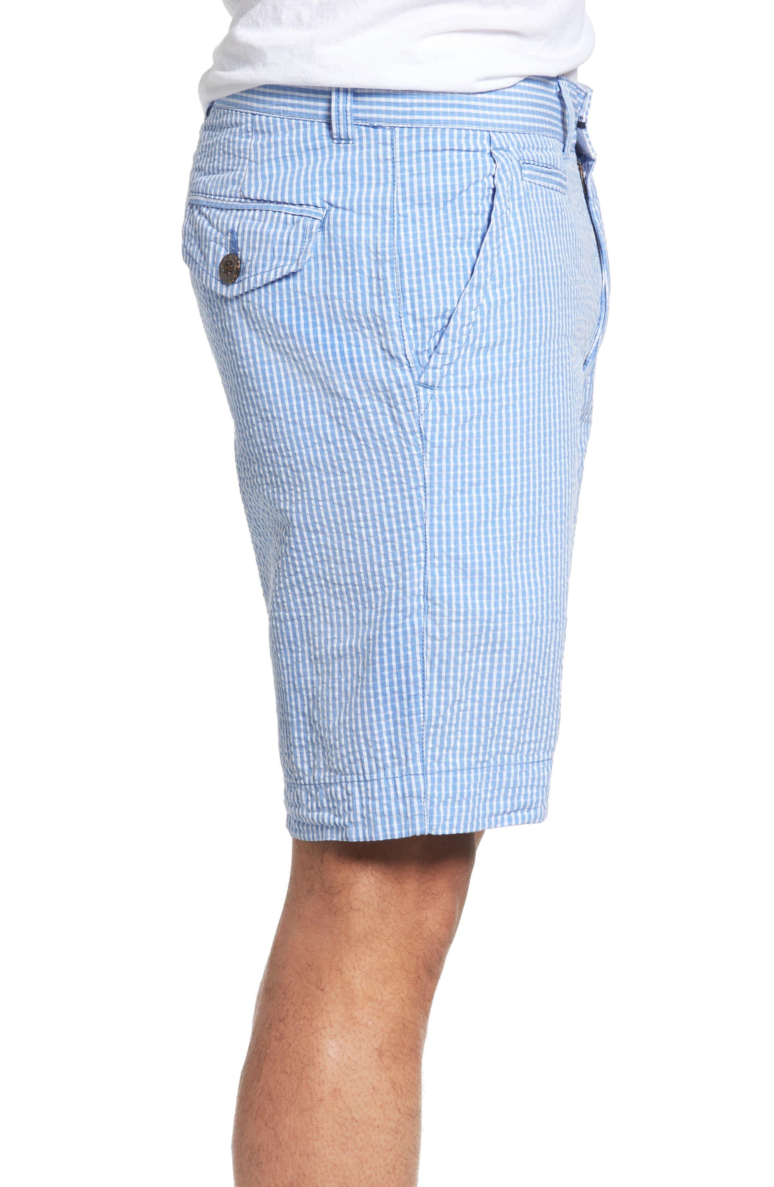 Alternate Image 3  - Vintage 1946 Stripe Seersucker Shorts