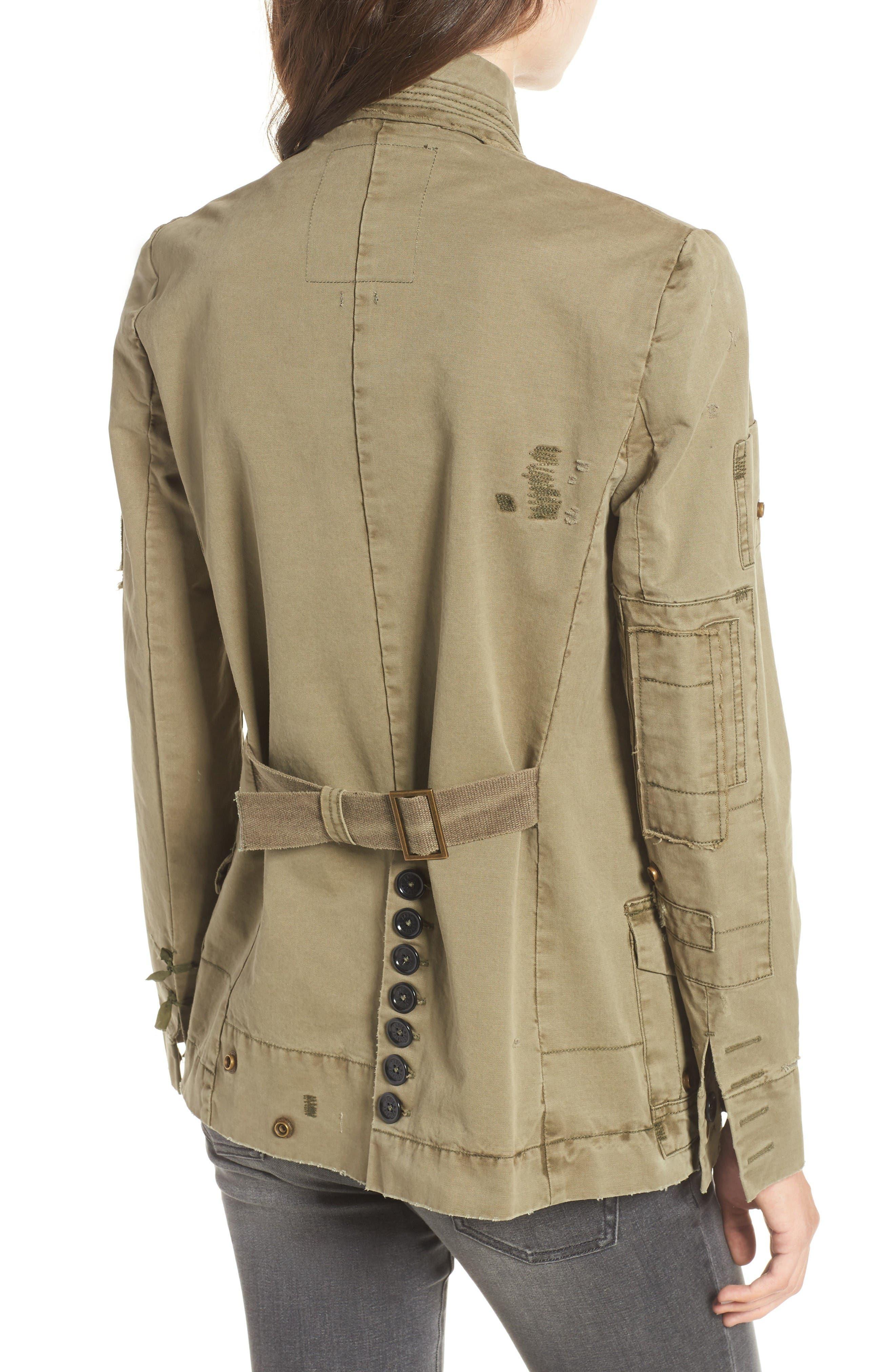 Main Image - Zadig & Voltaire Vladimir Grunge Utility Jacket