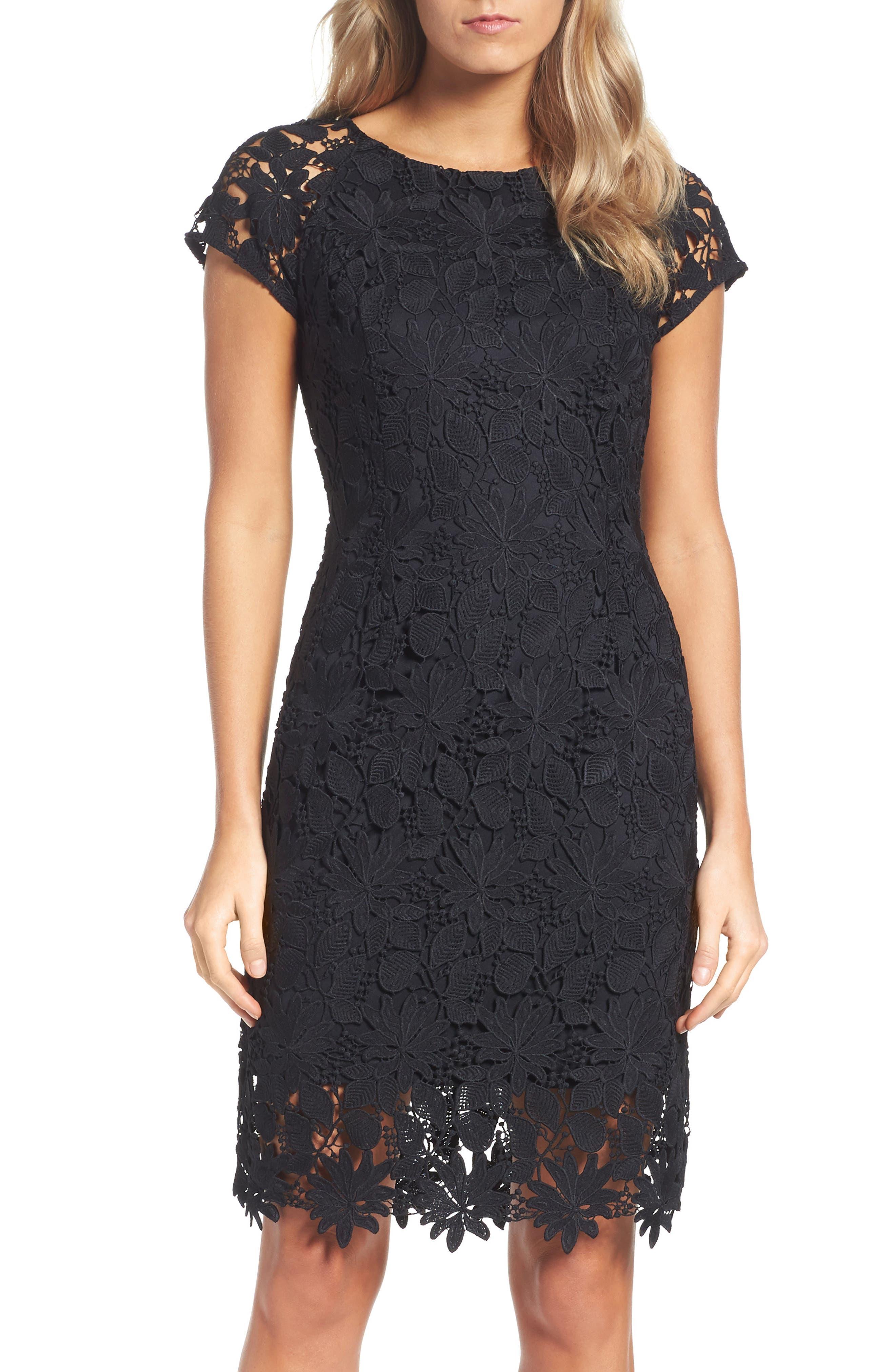 Main Image - Ellen Tracy Lace Dress
