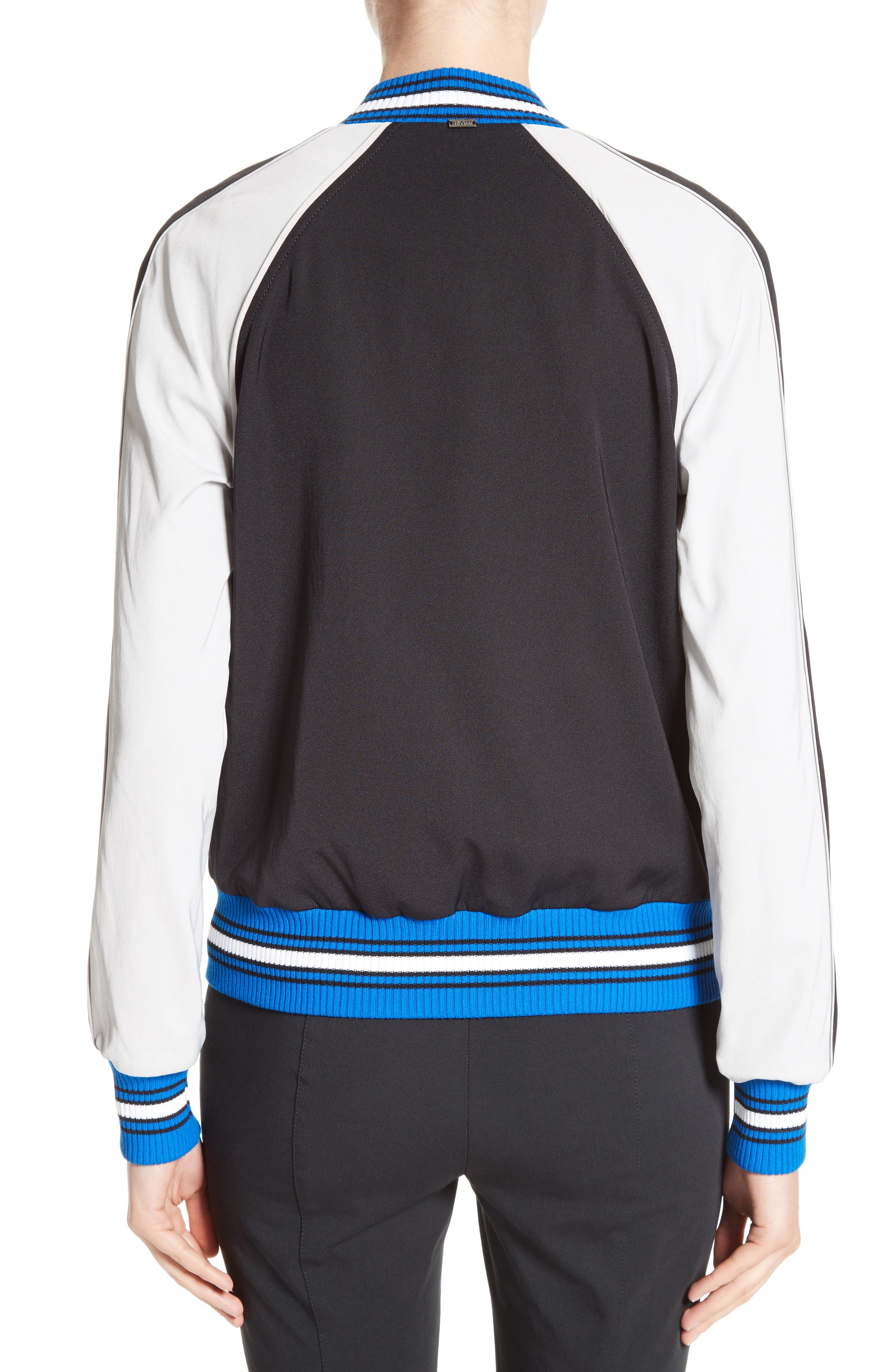 Alternate Image 2  - St. John Collection Stretch Tech Twill Bomber