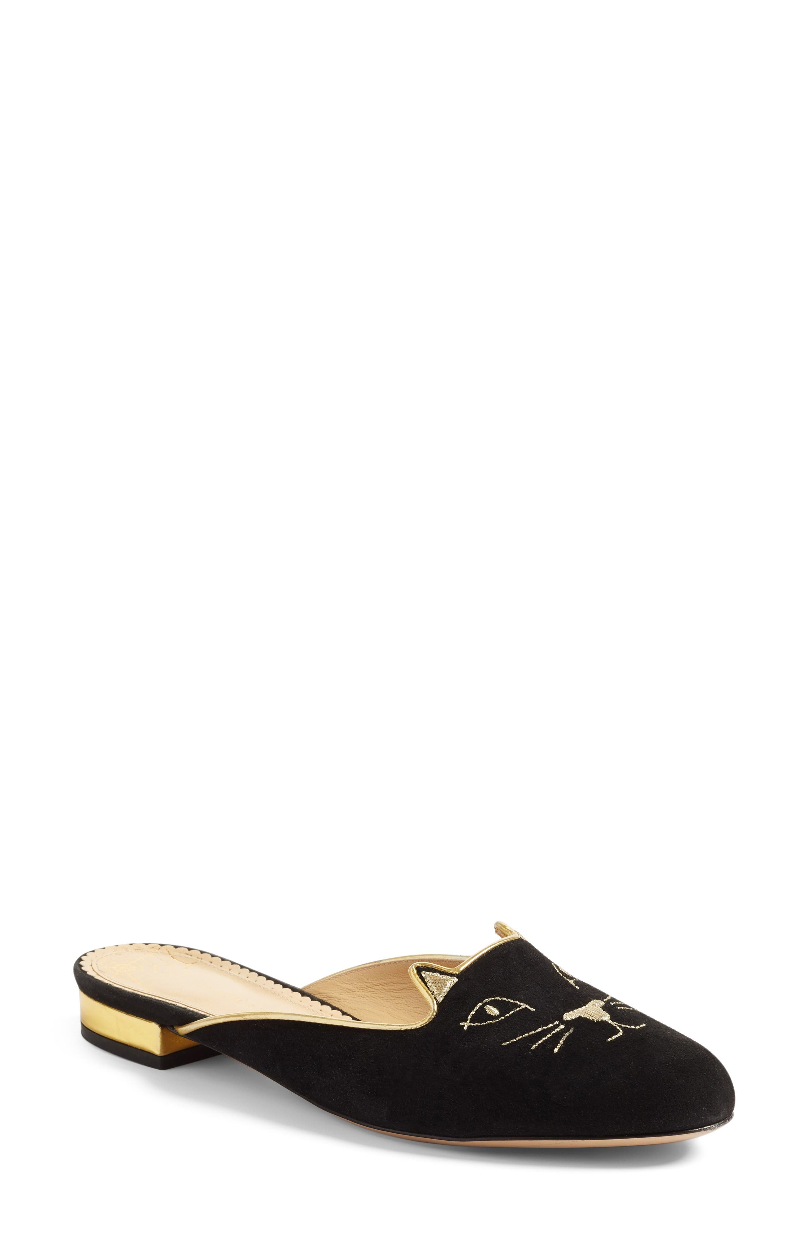 Charlotte Olympia Kitty Mule (Women)