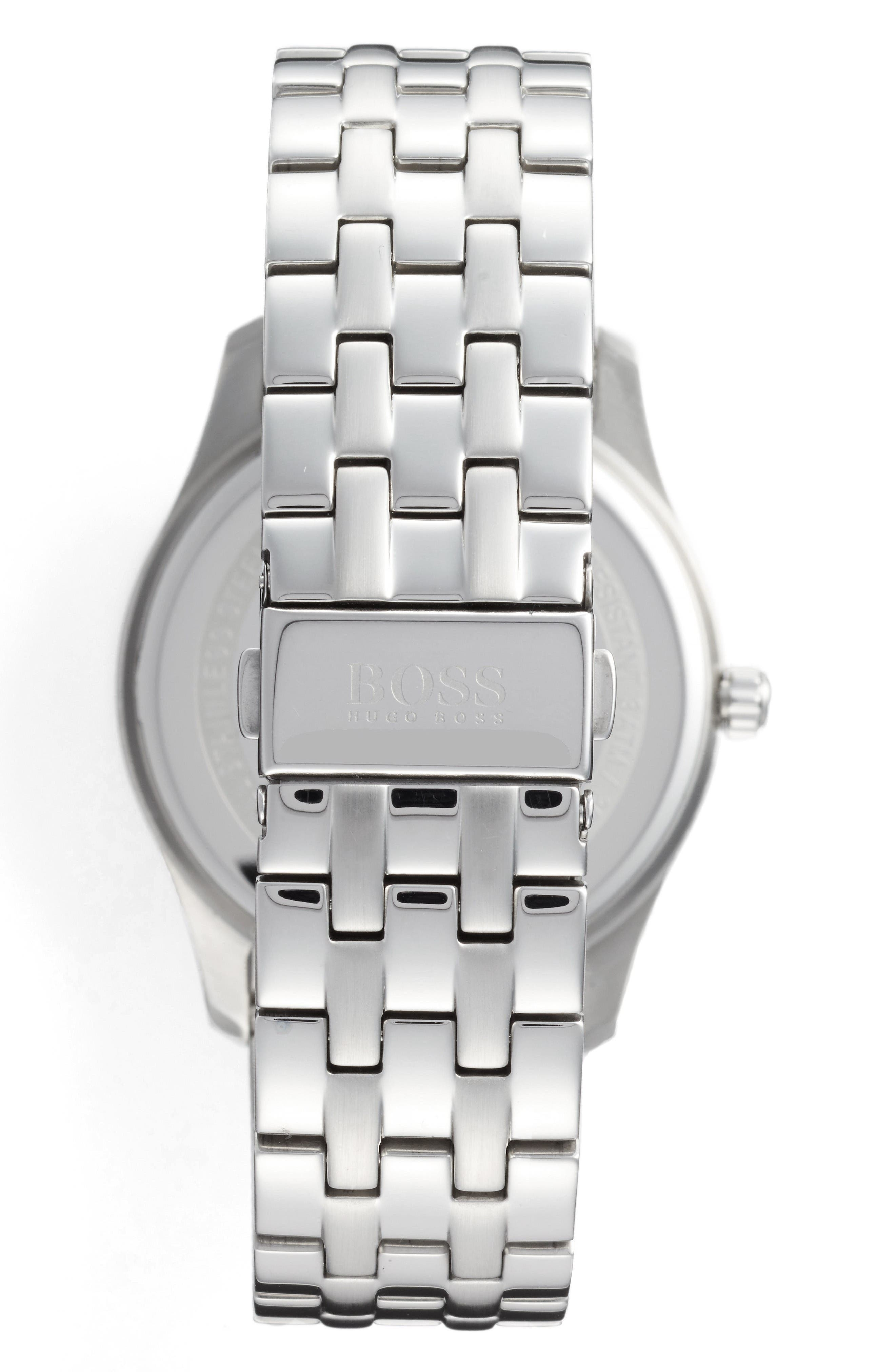 Alternate Image 2  - BOSS Commander Multifunction Bracelet Watch, 41mm
