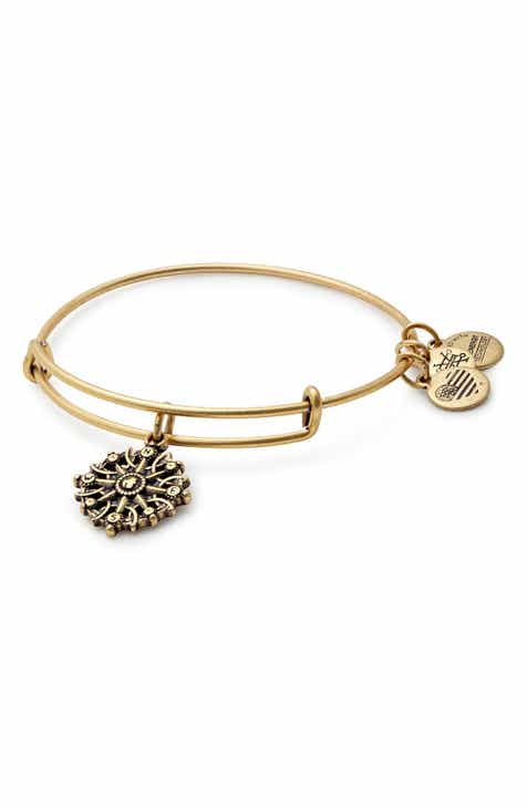 Alex And Ani Comp Adjule Wire Bangle Nordstrom Exclusive