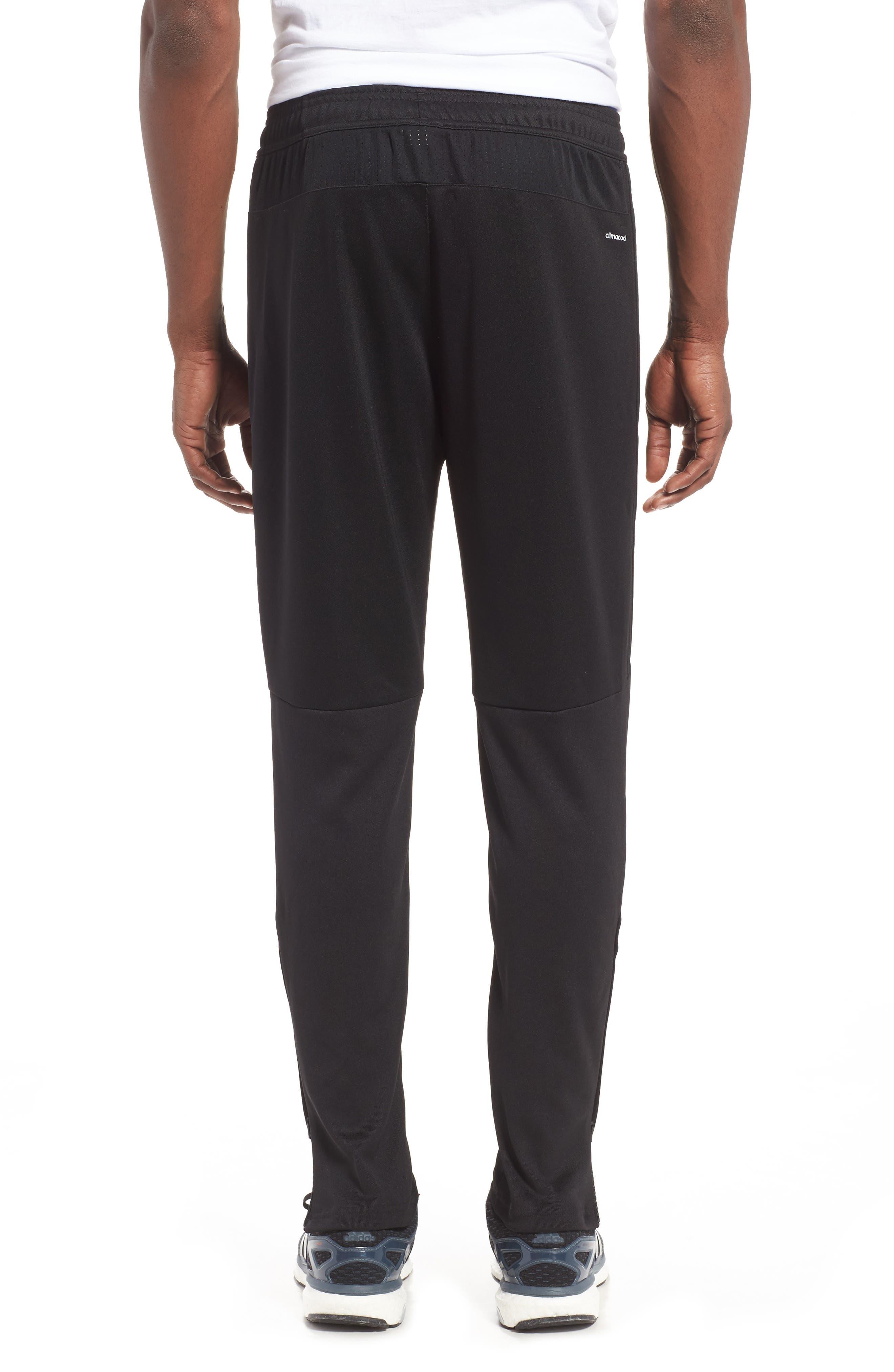 Tiro 17 Training Pants,                             Alternate thumbnail 2, color,                             Black/ White