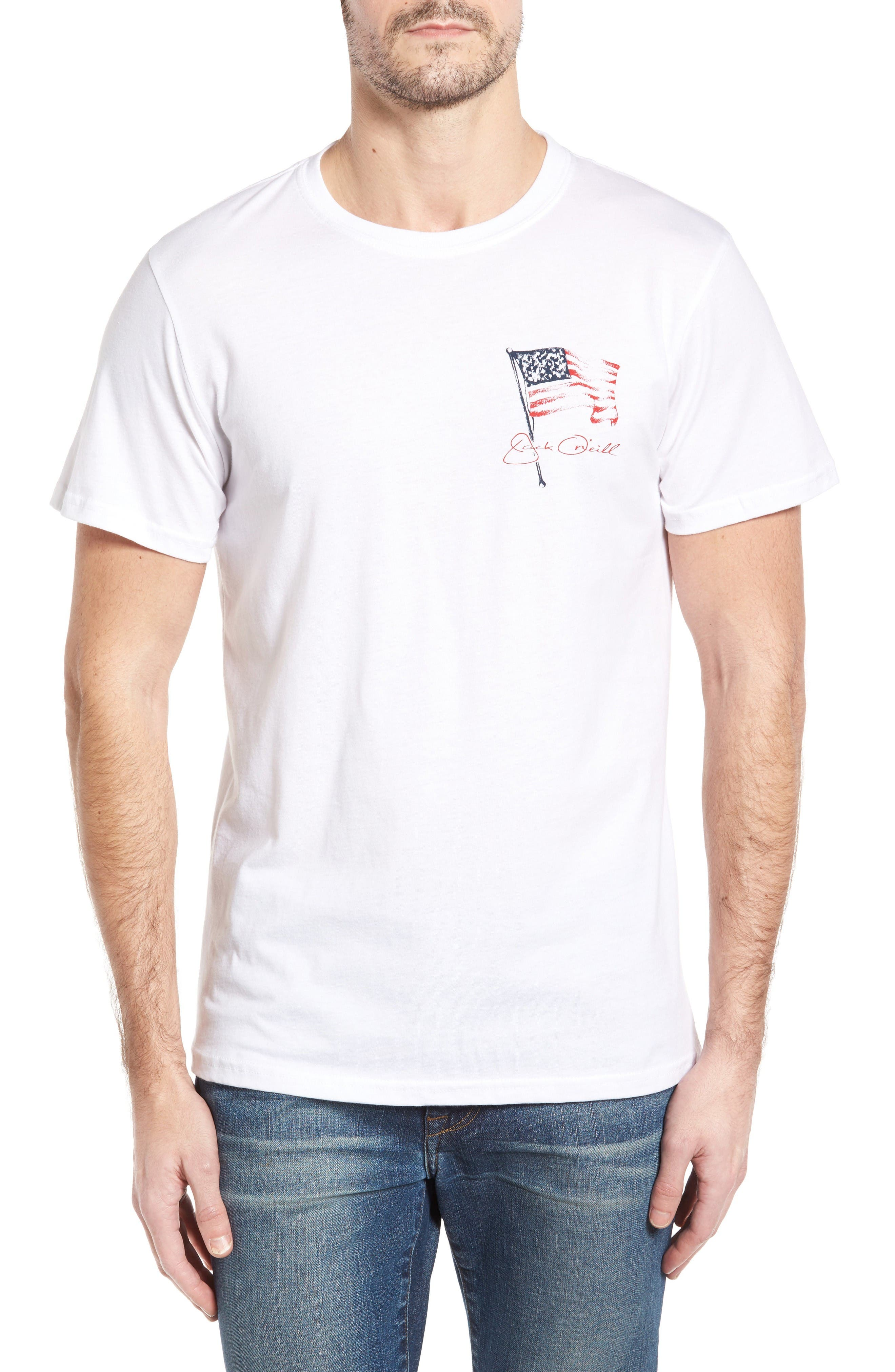 Freedom T-Shirt,                         Main,                         color, White