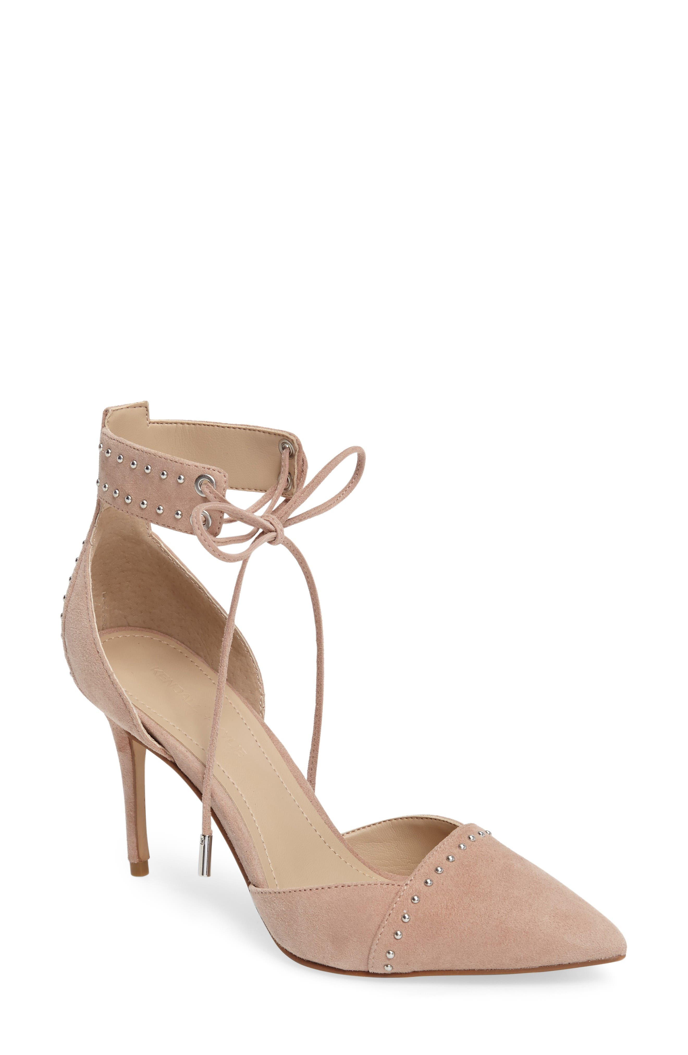 Alternate Image 1 Selected - KENDALL + KYLIE Cora Ankle Strap Pump (Women)