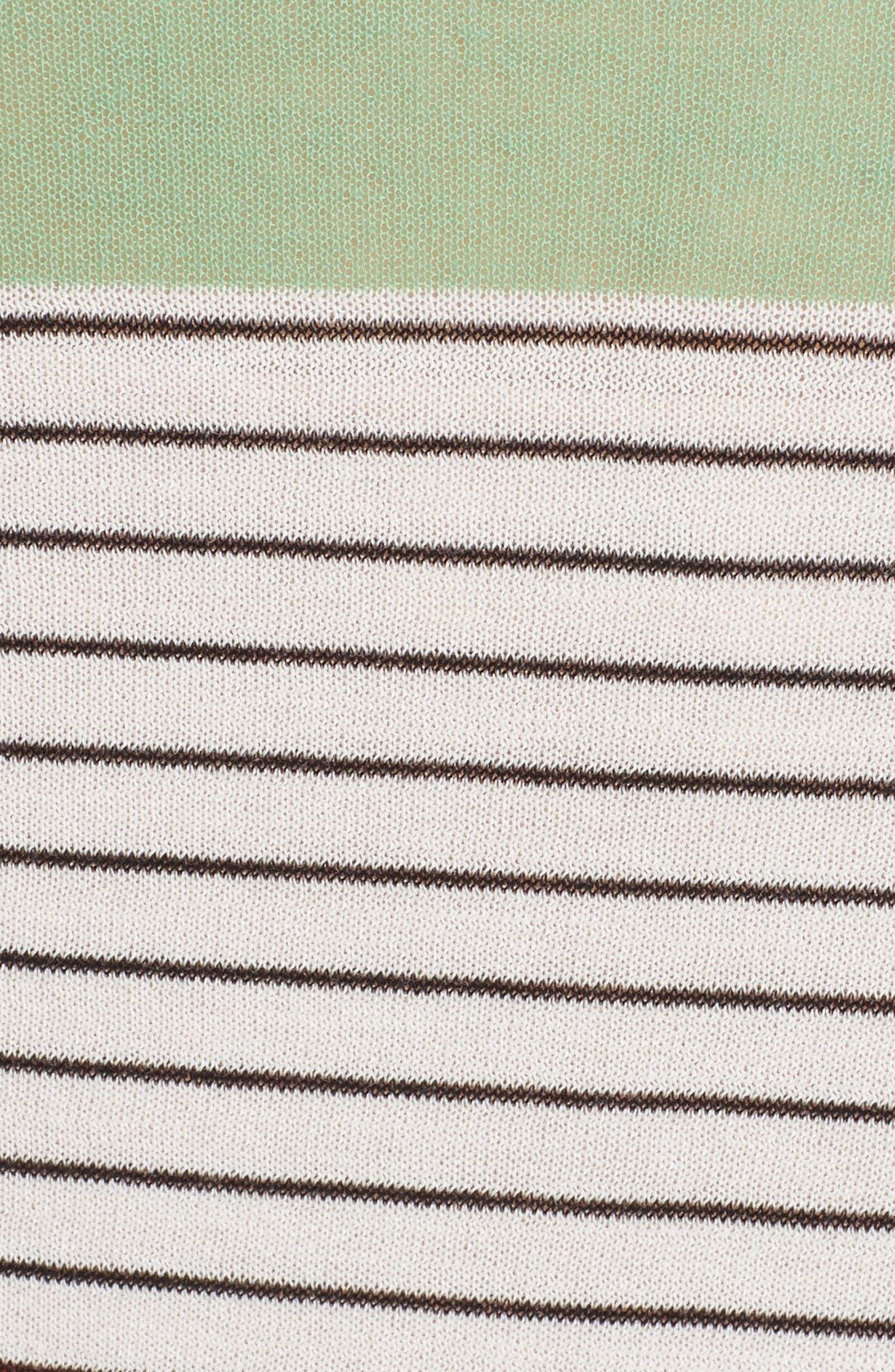 Alternate Image 5  - Diane von Furstenberg Colorblock Knit Midi Dress
