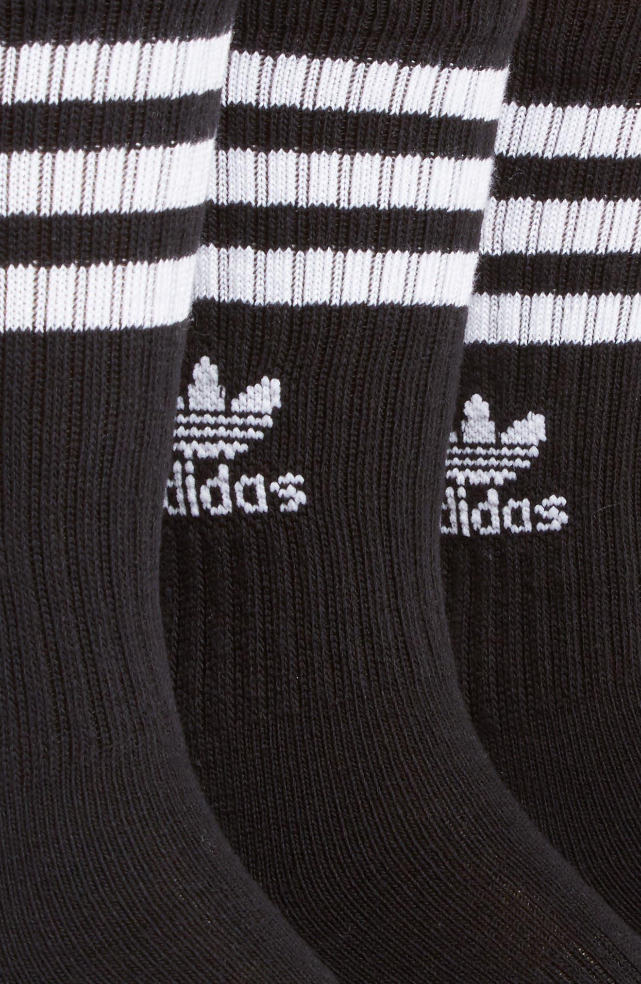 Alternate Image 2  - adidas 3-Pack Original Cushioned Crew Socks