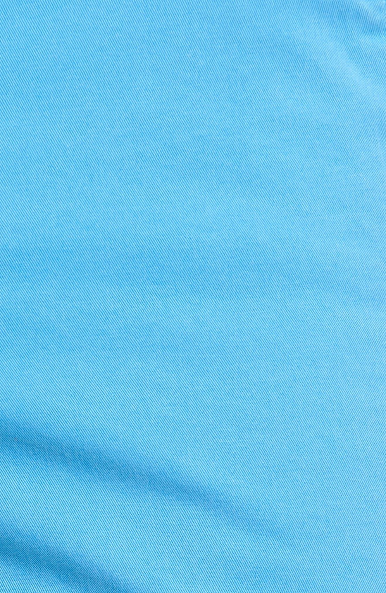 'Sunny' Stretch Chino Shorts,                             Alternate thumbnail 5, color,                             Hurricane