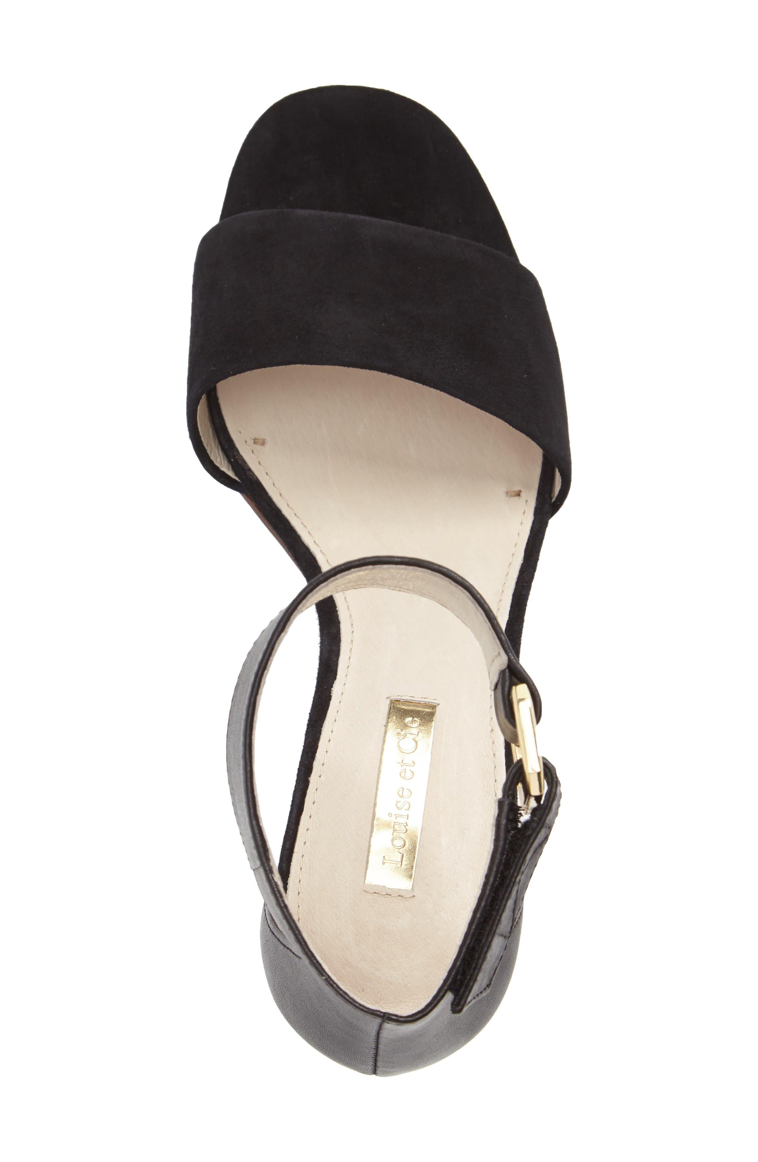 Alternate Image 3  - Louise et Cie Kambria Block Heel Sandal (Women)