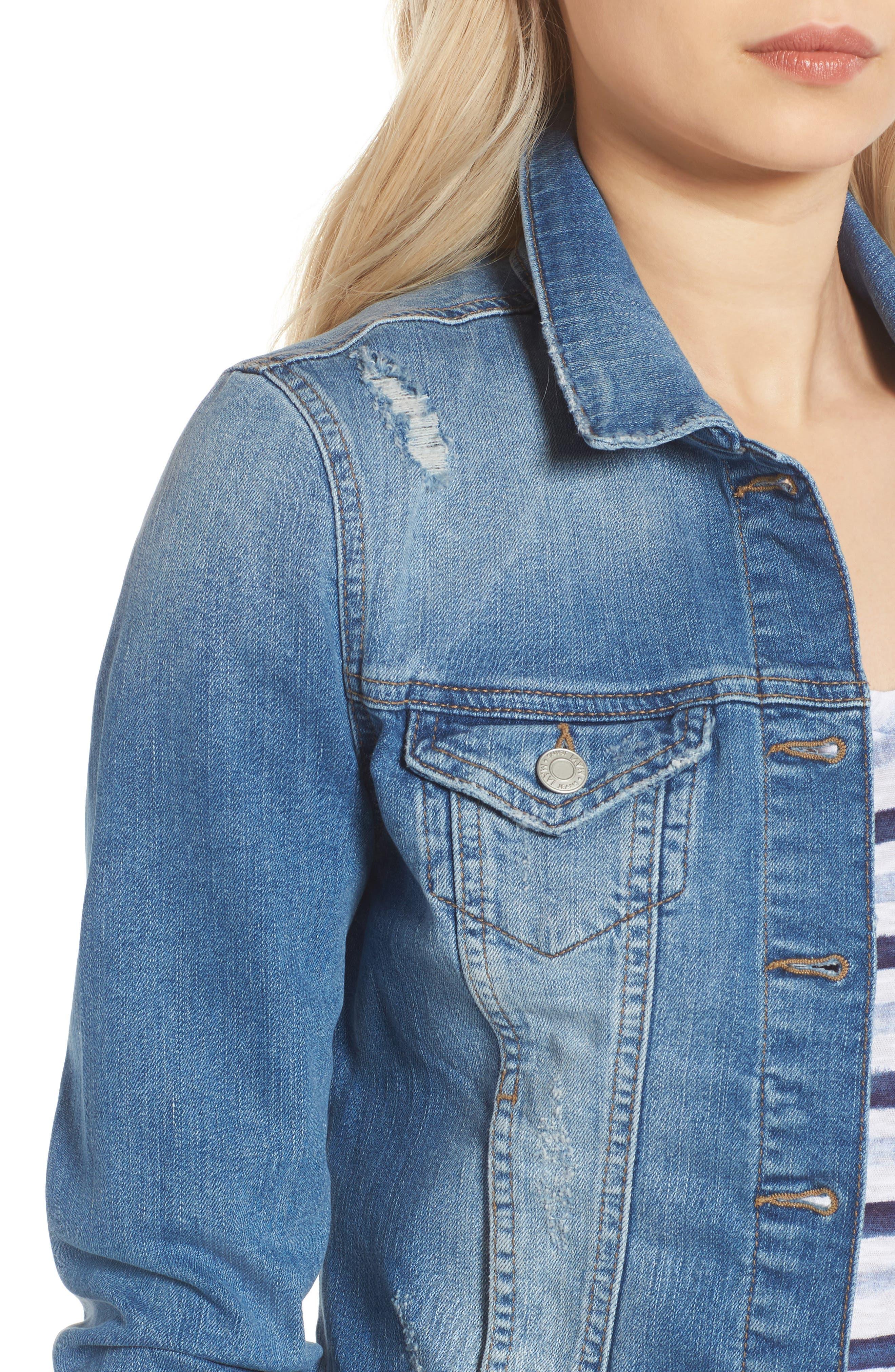 Alternate Image 4  - Mavi Jeans Samantha Denim Jacket