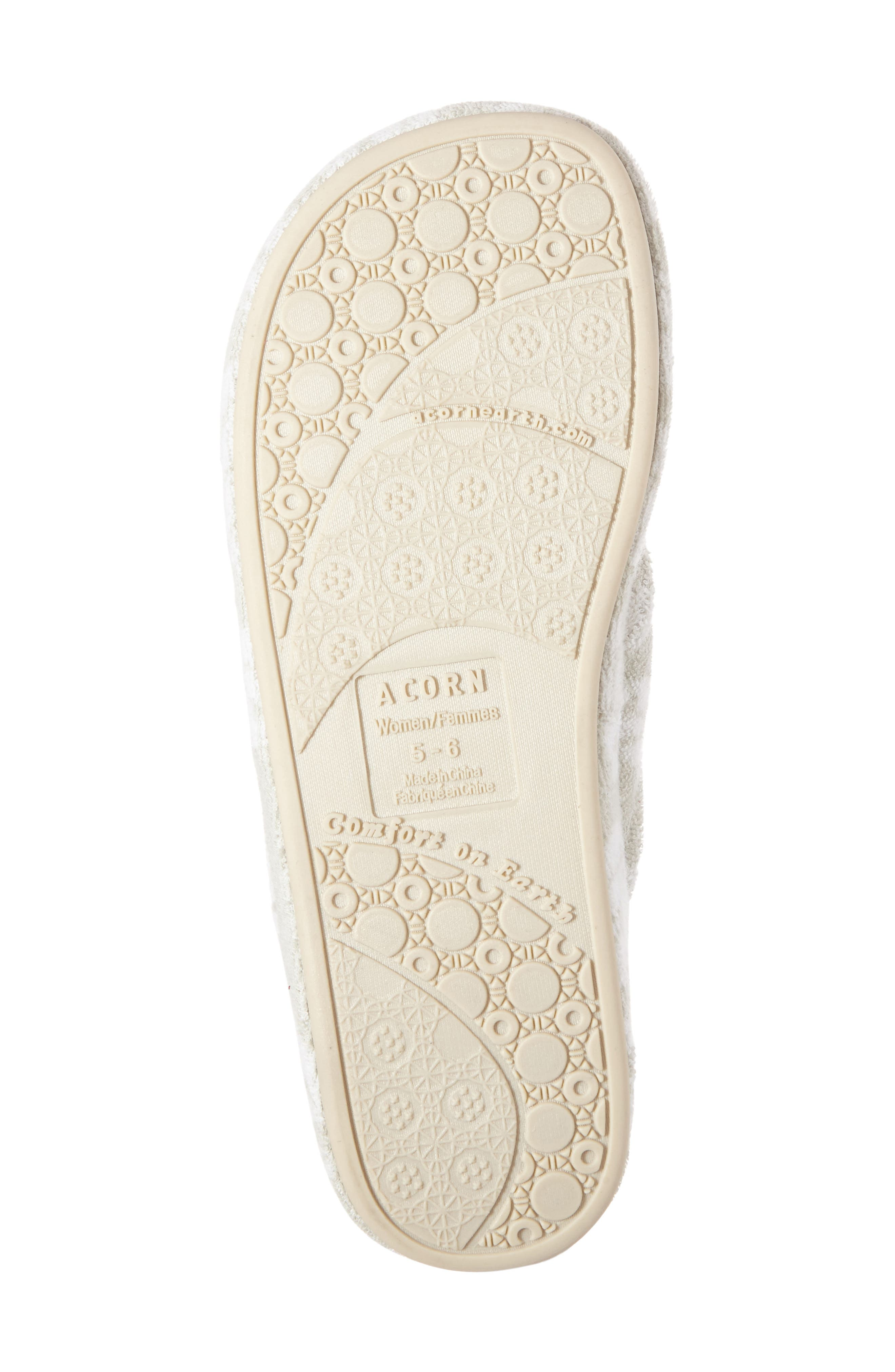 Alternate Image 4  - Acorn Summerweight Spa Slipper (Women)
