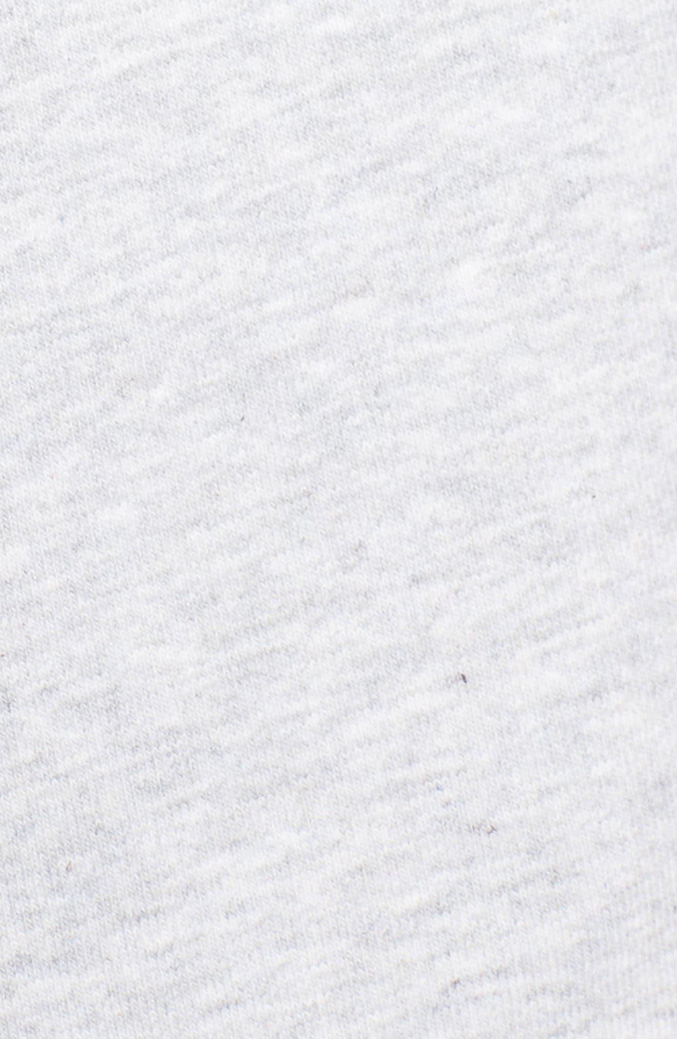 Logo Sweatshirt,                             Alternate thumbnail 6, color,                             Light Grey Marl