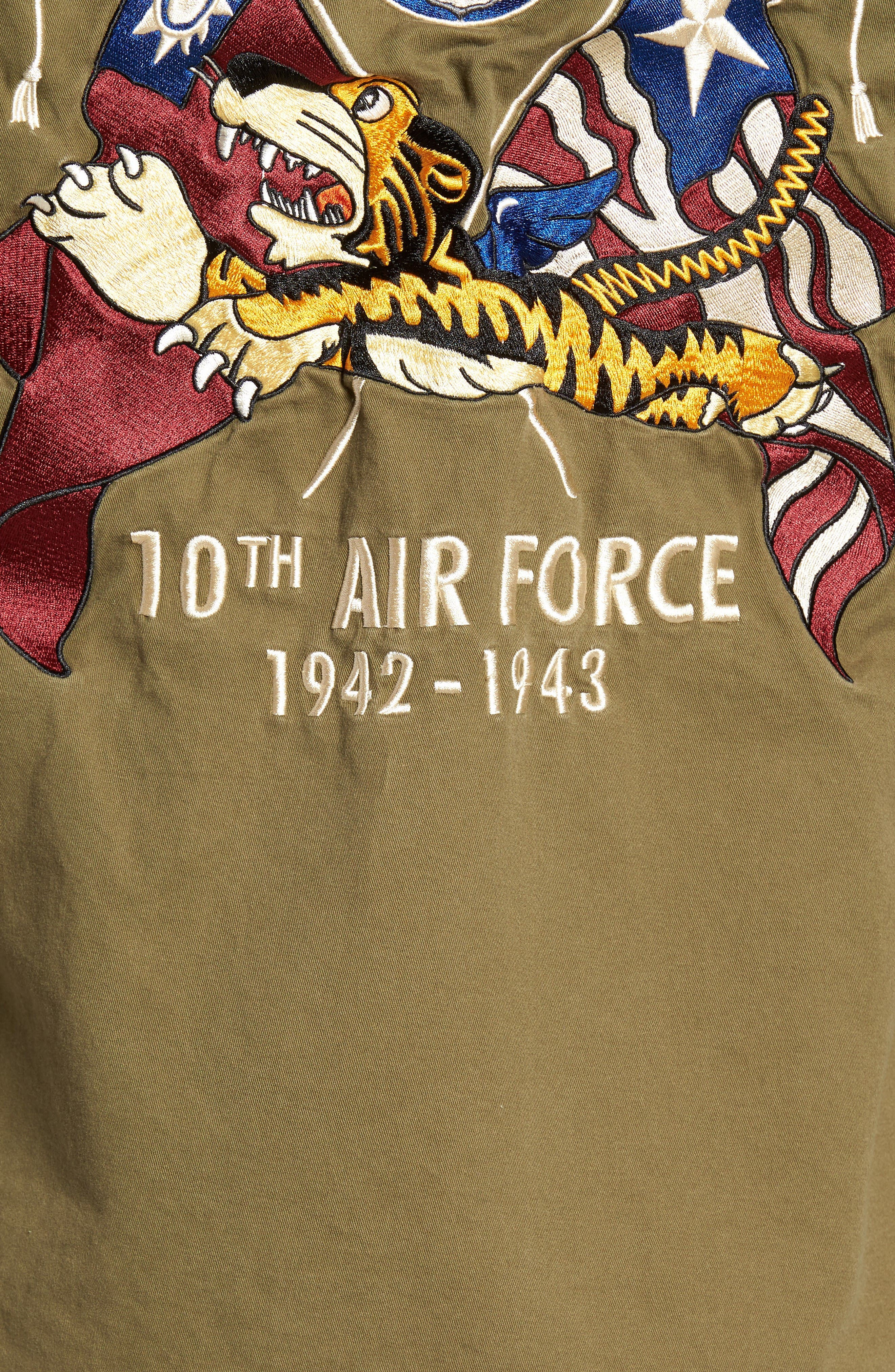 Alternate Image 5  - Schott NYC Flying Tenth Fatigue Shirt