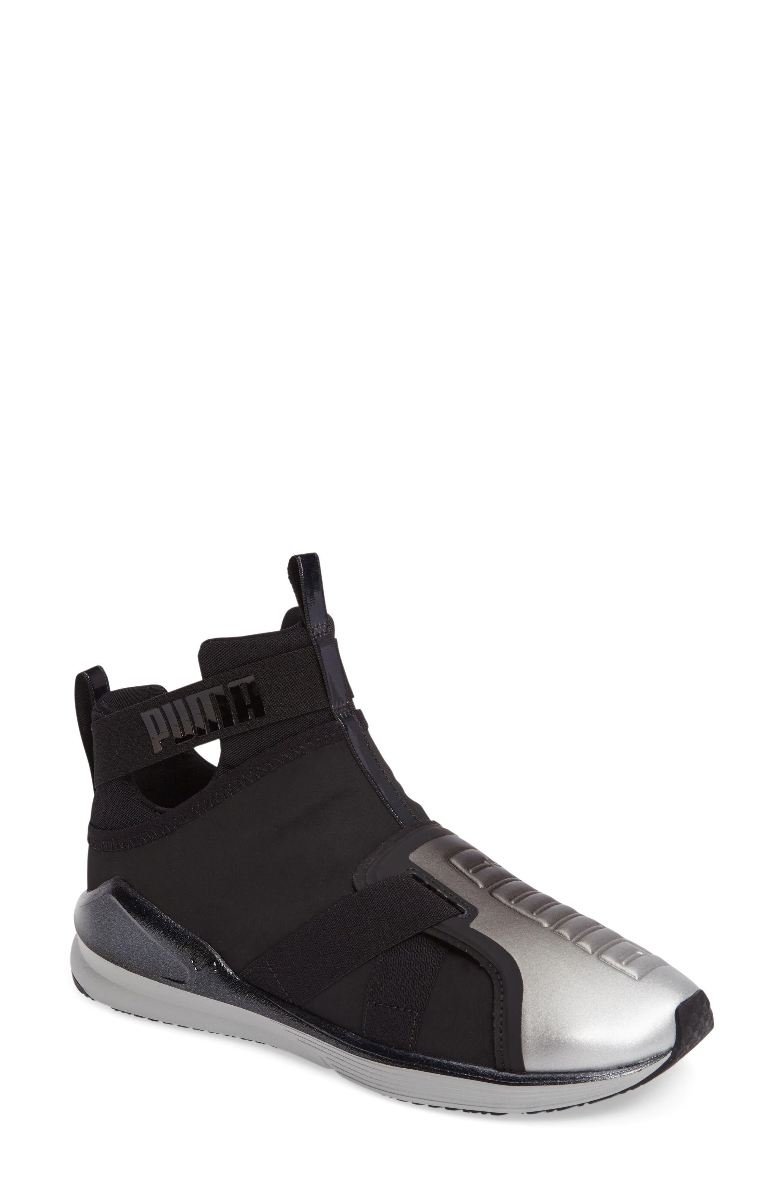 Alternate Image 1 Selected - PUMA Fierce High Top Sneaker (Women)