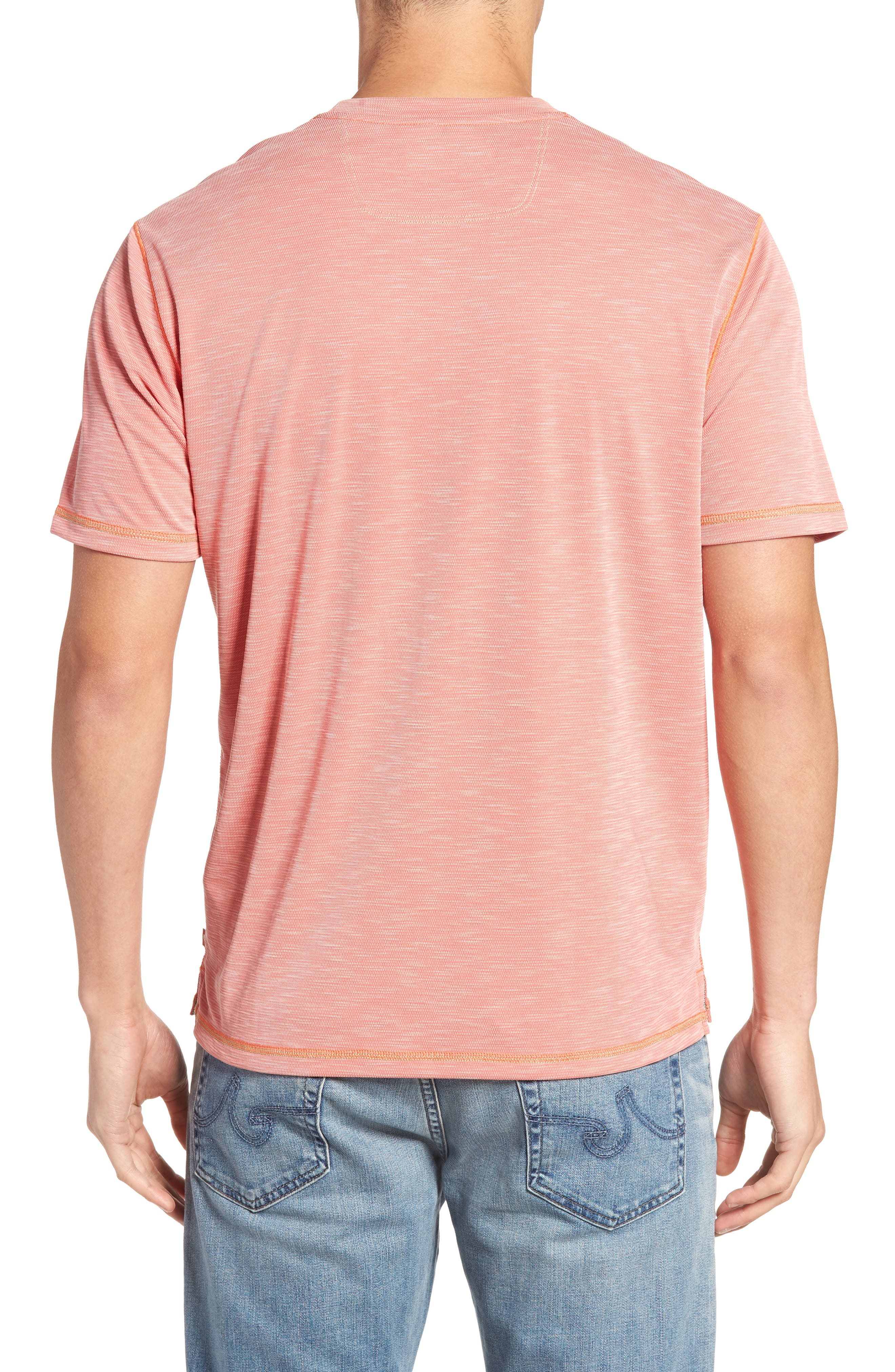 Paradise Around Crewneck T-Shirt,                             Alternate thumbnail 2, color,                             Fusion
