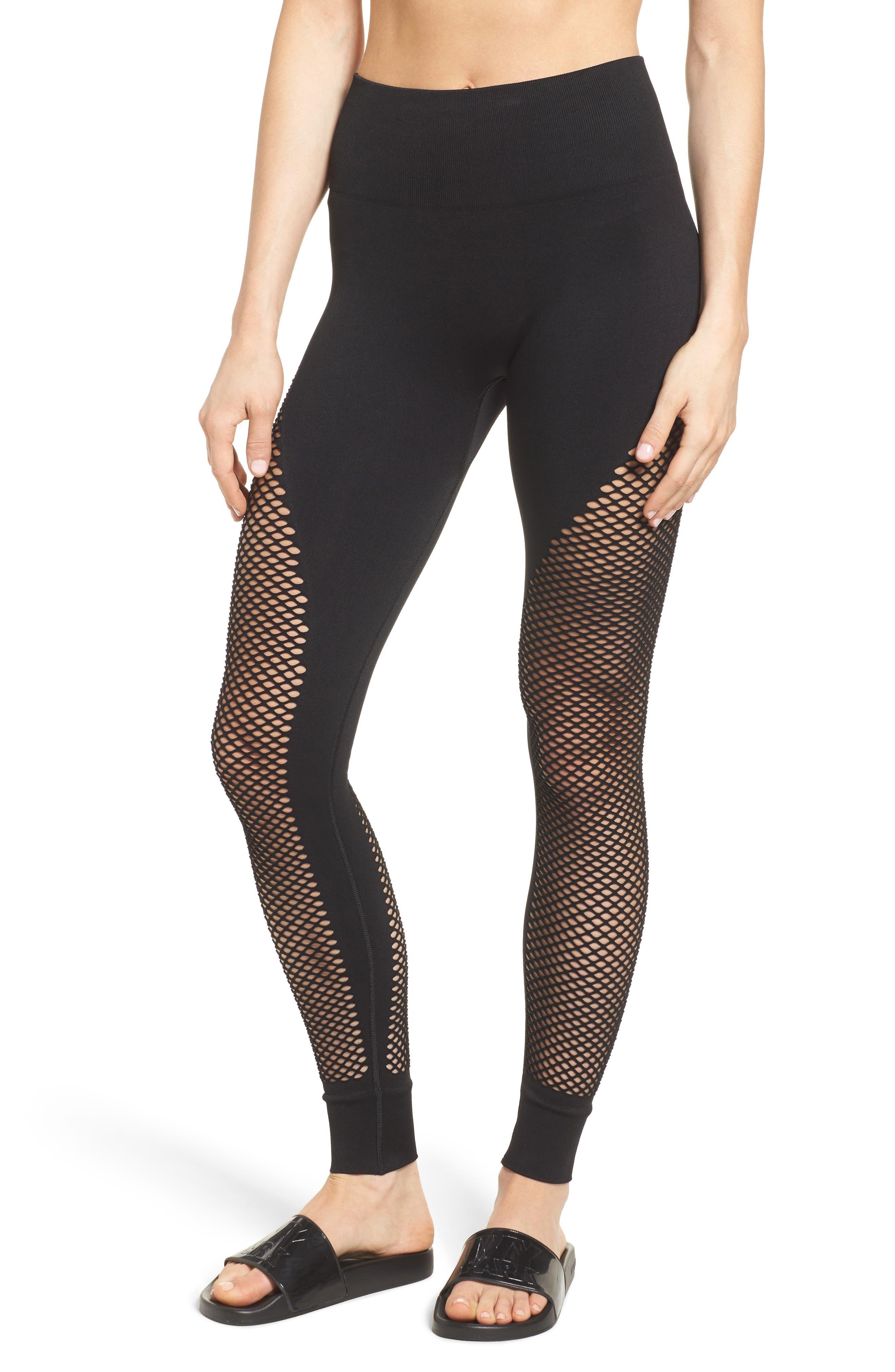 Alternate Image 1 Selected - IVY PARK® Fishnet Leggings