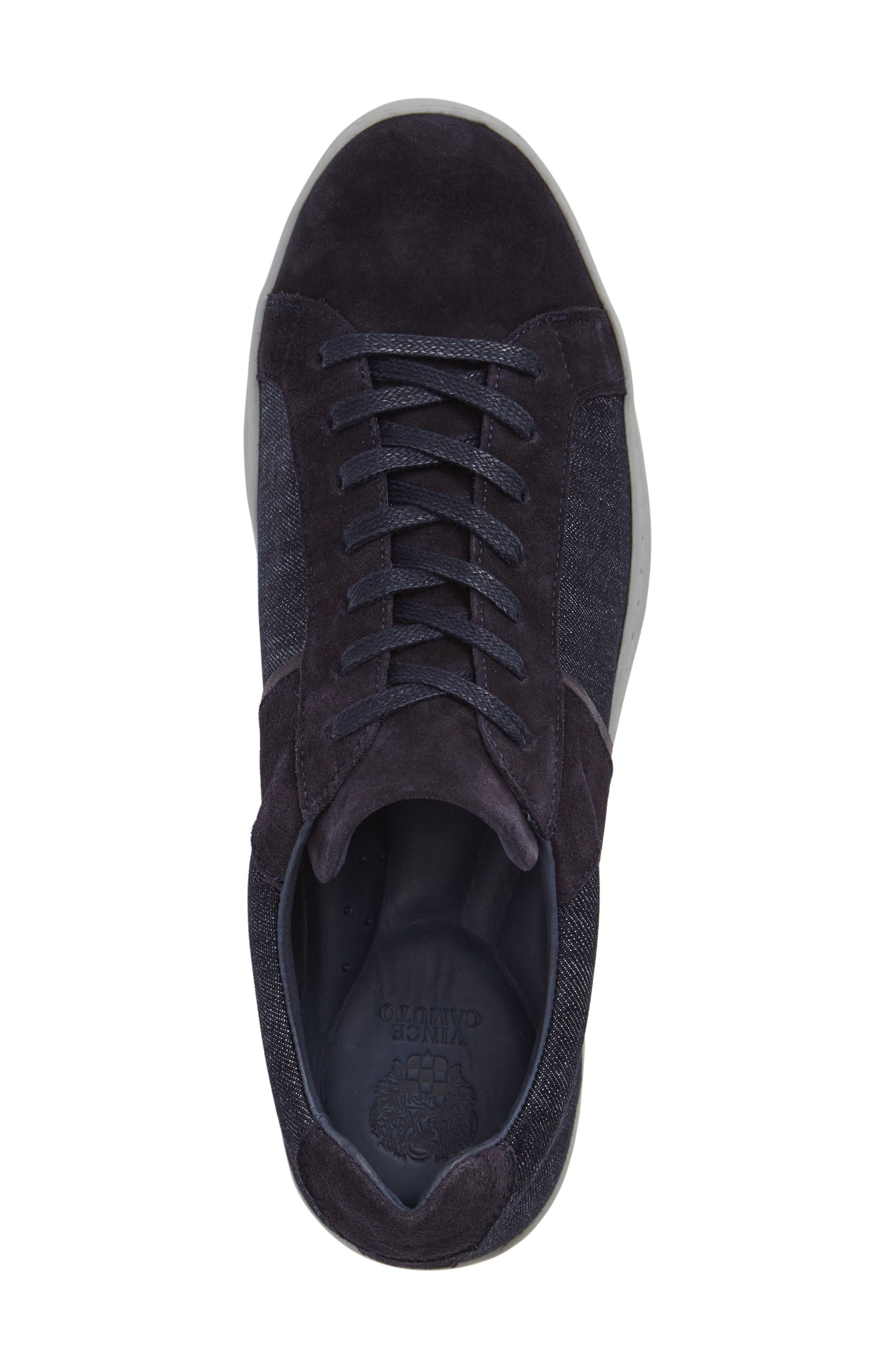 Ginx Sneaker,                             Alternate thumbnail 3, color,                             Marino Suede