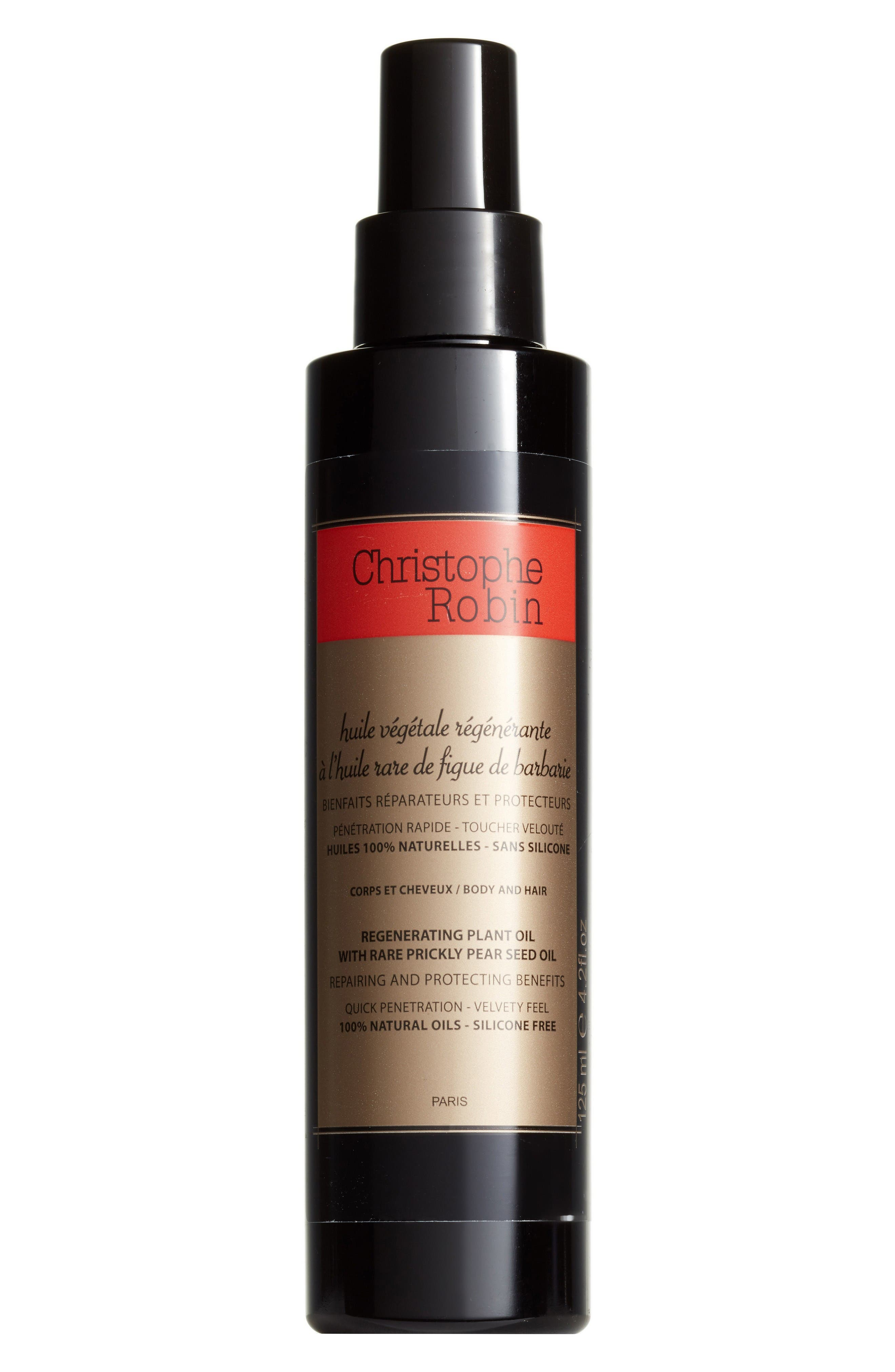 SPACE.NK.apothecary Christophe Robin Regenerating Plant Oil with Rare Prickly Pear Seed Oil,                         Main,                         color, No Color