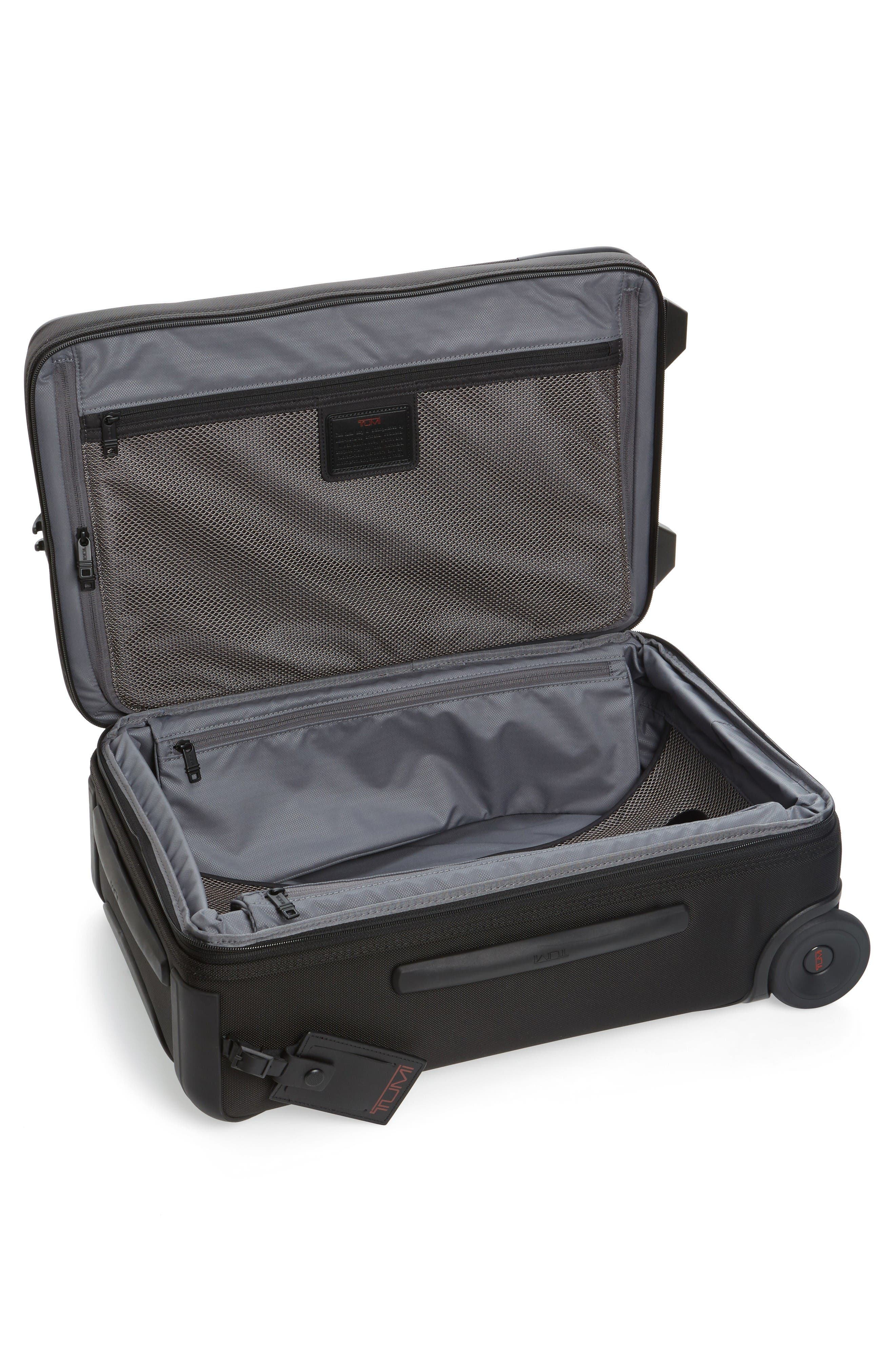 Alpha 2 22-Inch International Carry-On,                             Alternate thumbnail 2, color,                             Black
