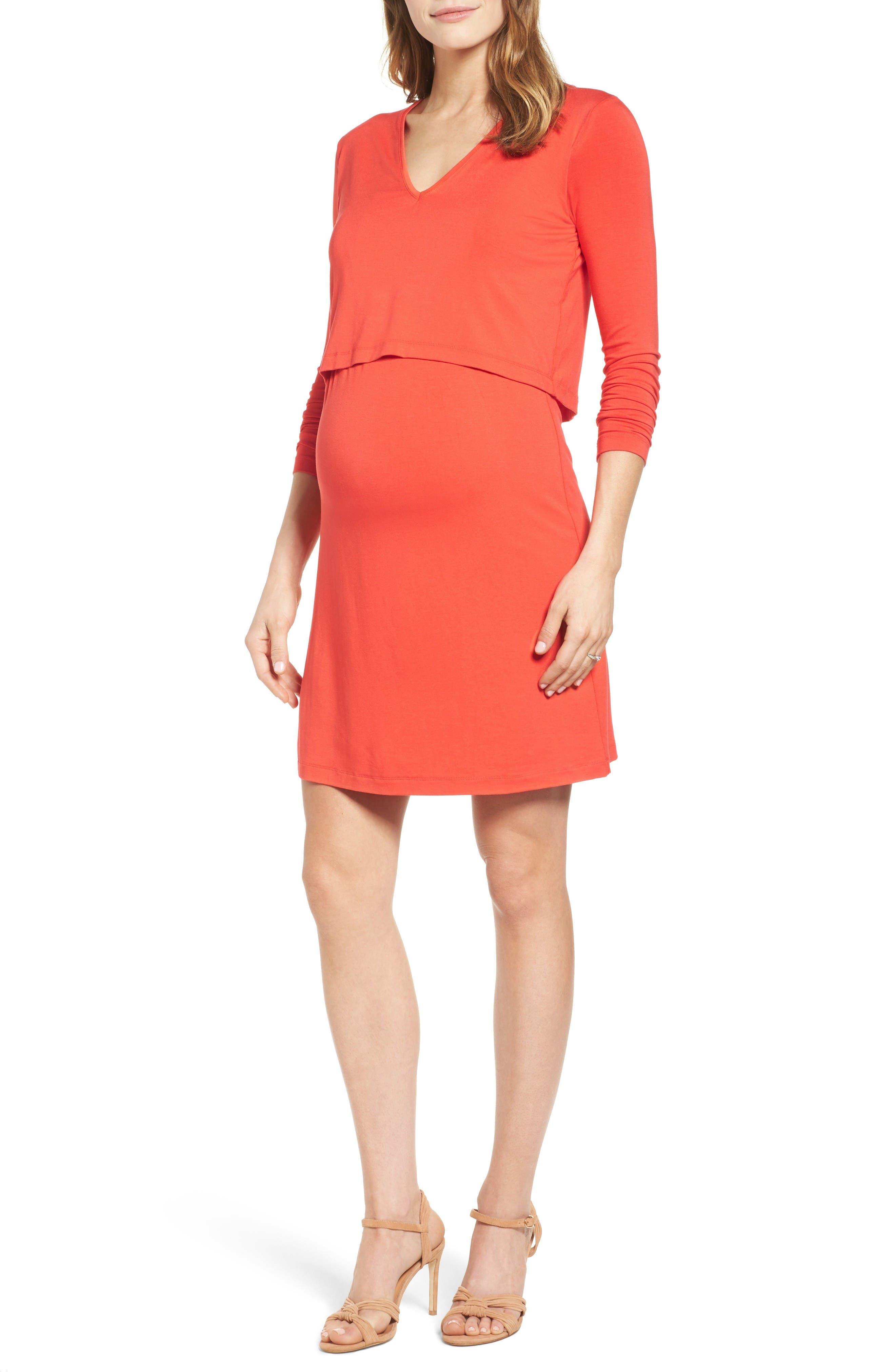 Isabella Oliver 'Webber' Nursing Sheath Dress