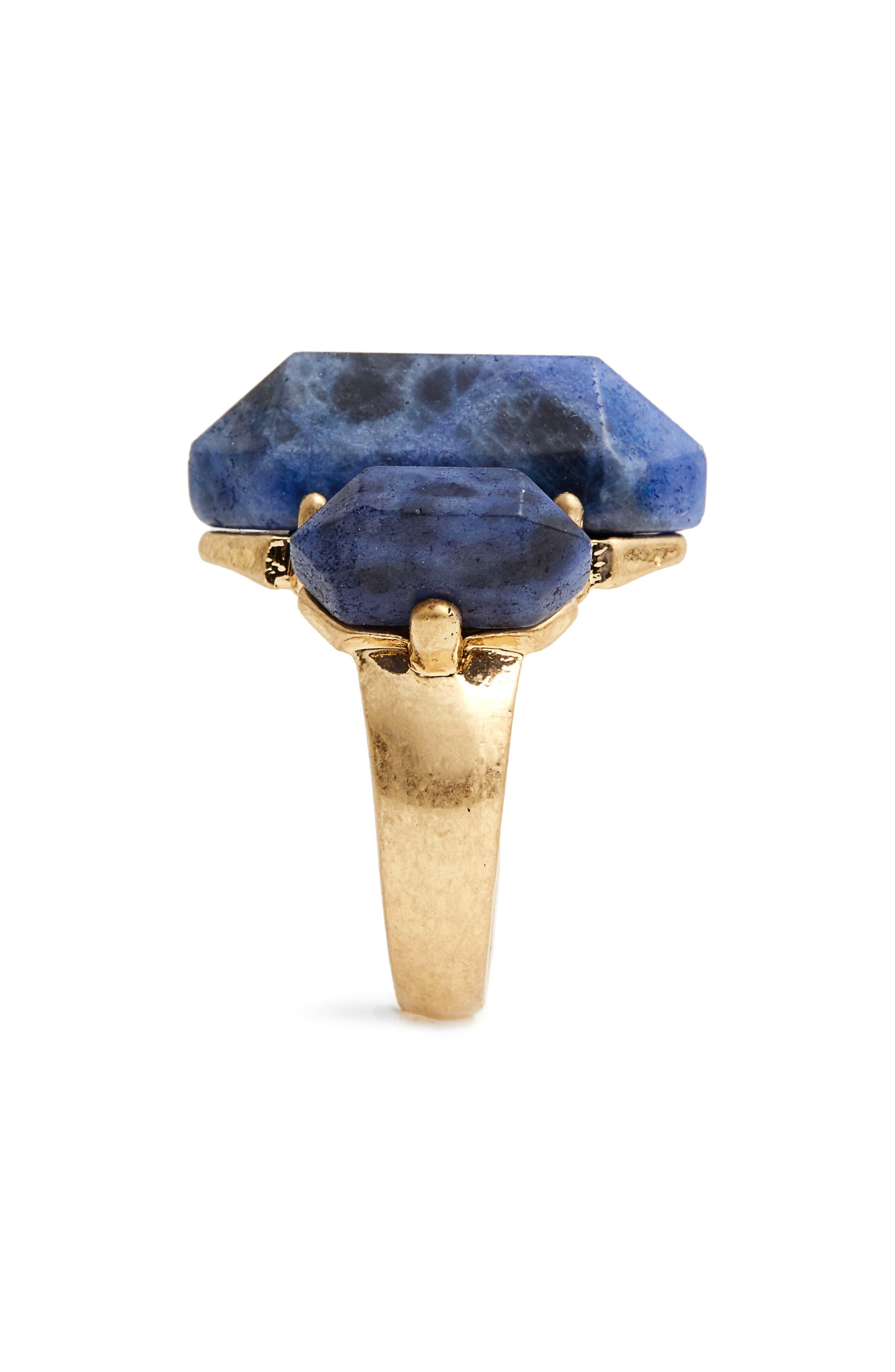Alternate Image 2  - Treasure & Bond Triple Stone Cocktail Ring