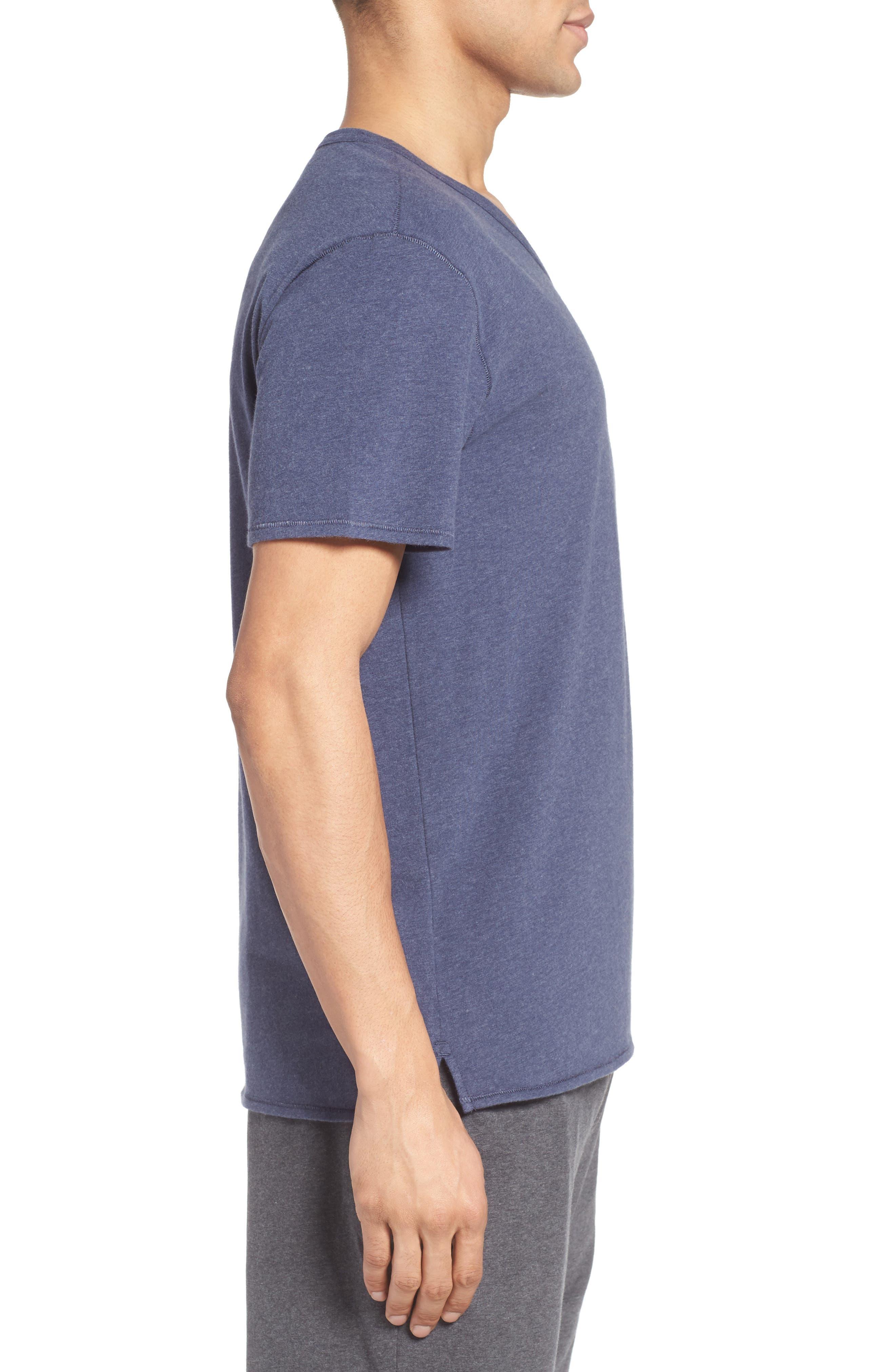Alternate Image 3  - Nordstrom Men's Shop Stretch Cotton V-Neck T-Shirt