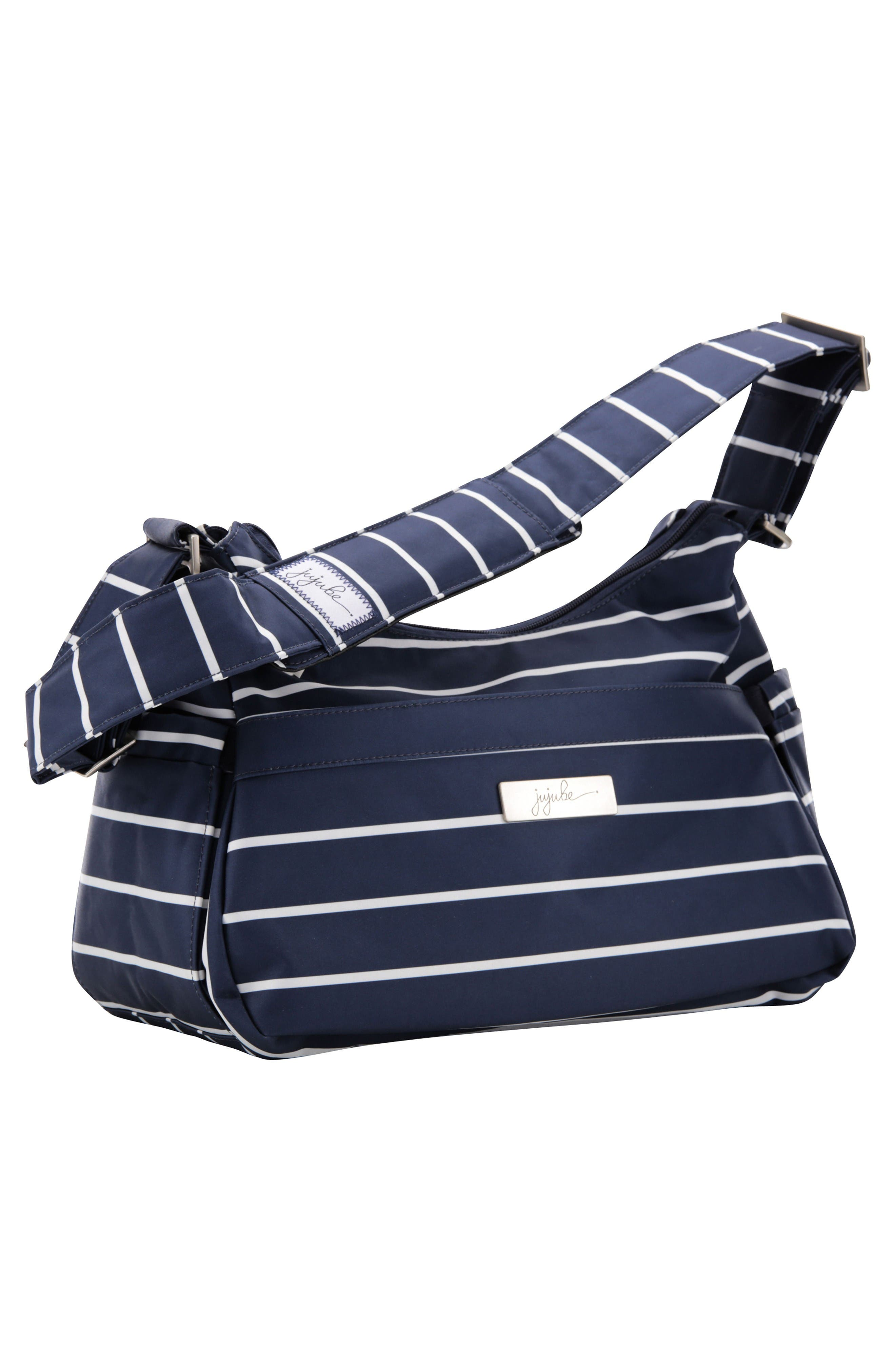 HoboBe - Coastal Collection Diaper Bag,                             Alternate thumbnail 3, color,                             Nantucket
