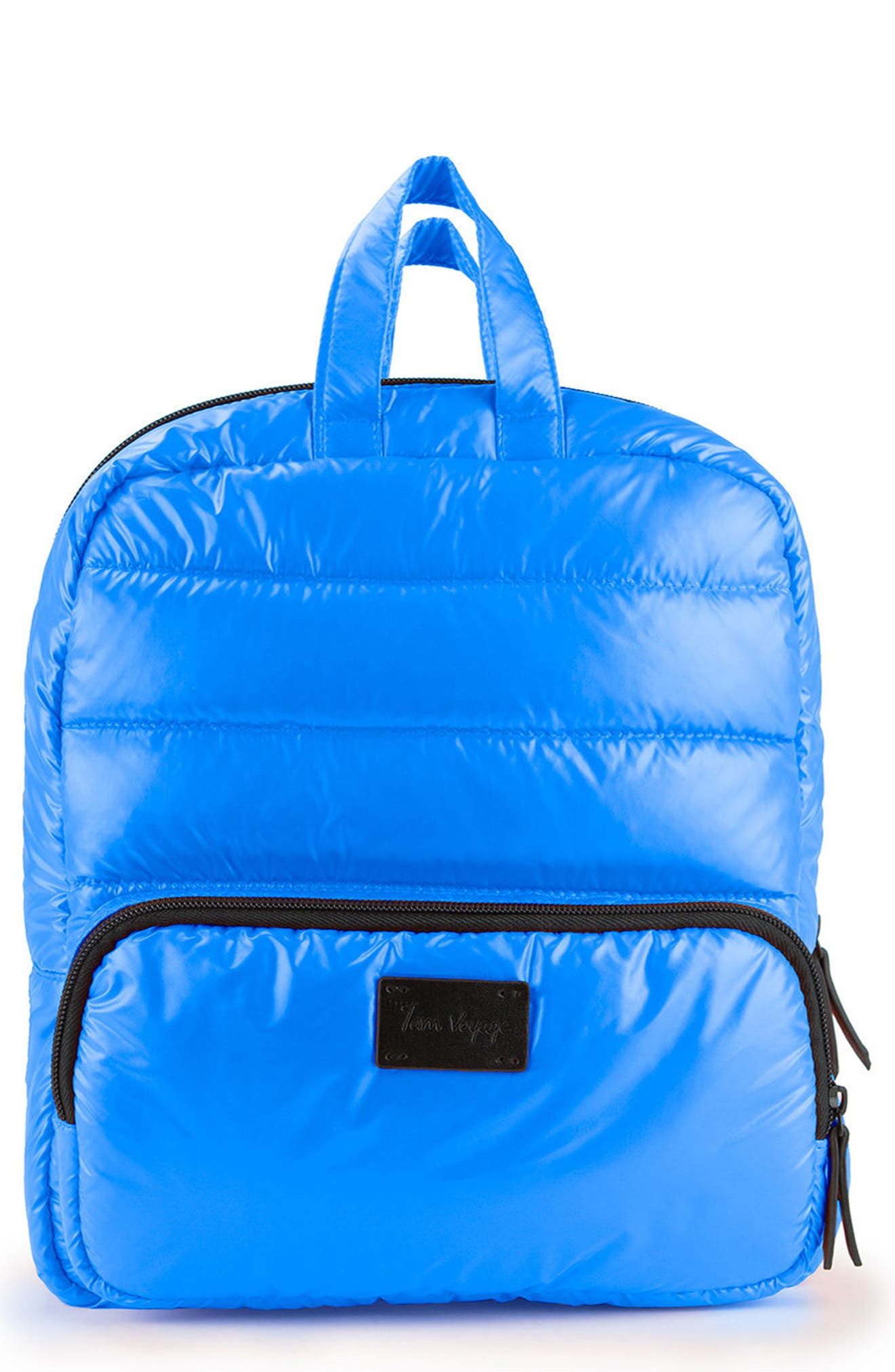 Mini Water Repellent Backpack,                         Main,                         color, Electric Blue