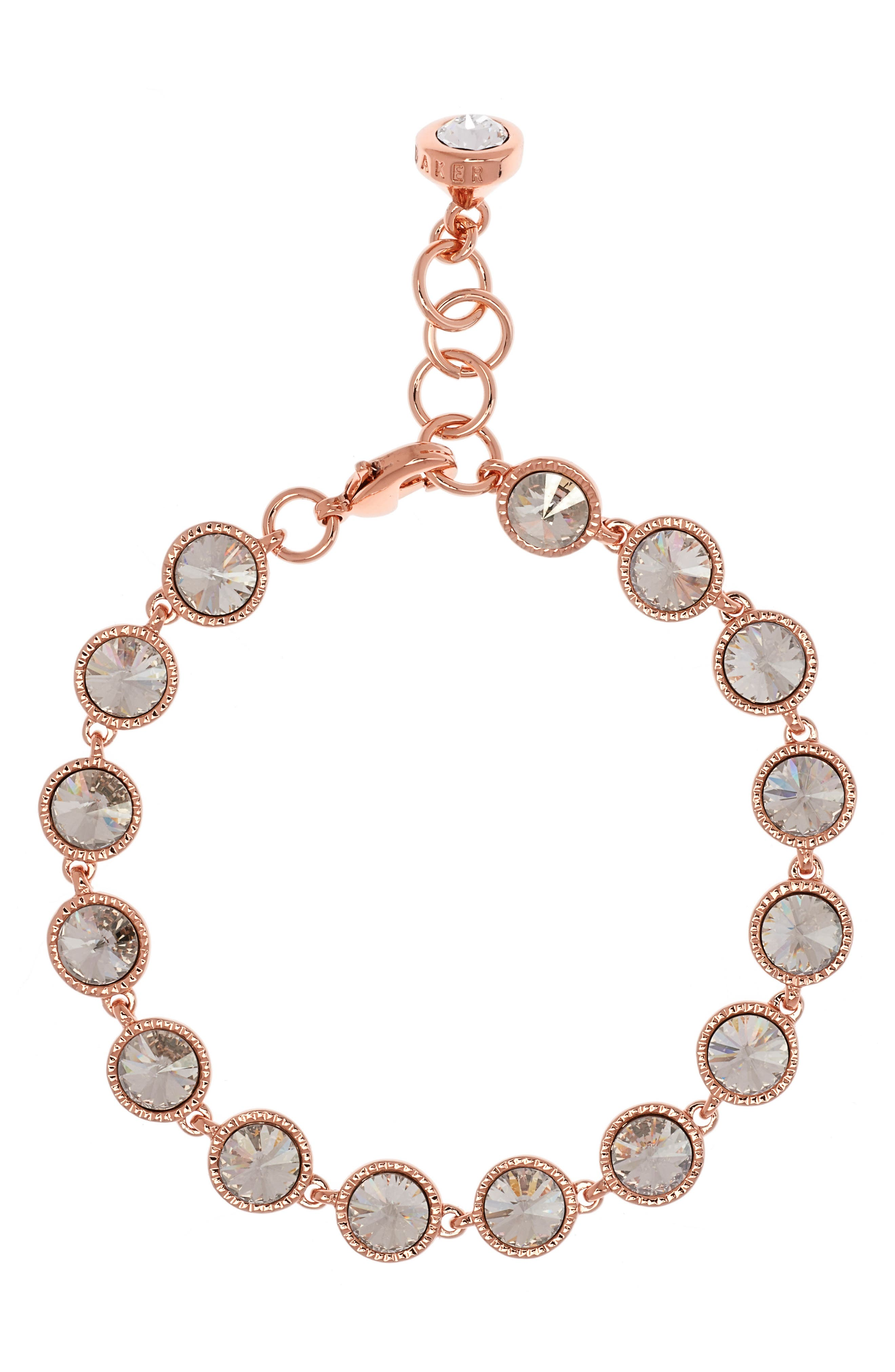 Ted Baker London Rivoli Crystal Line Bracelet