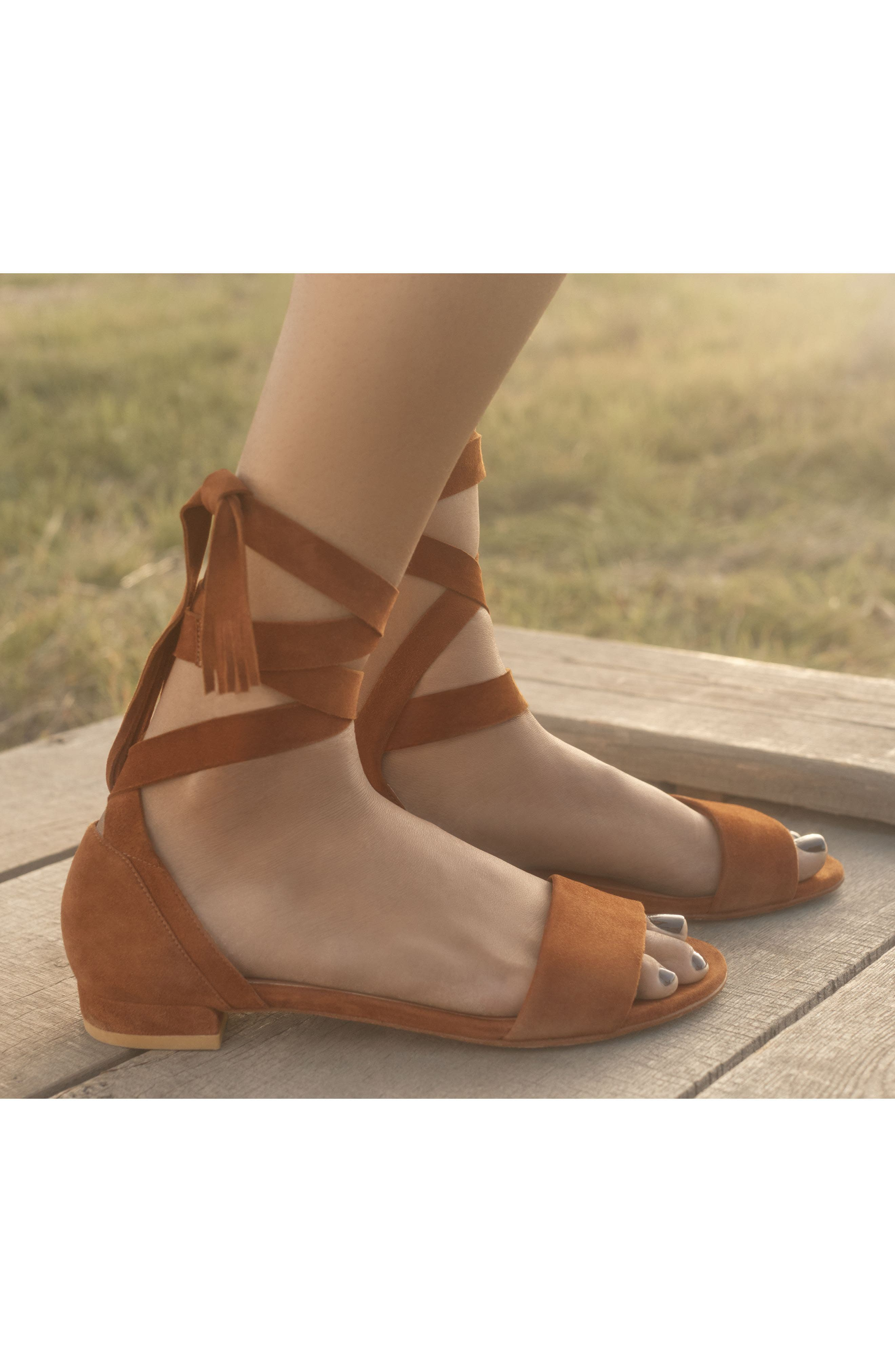 Alternate Image 7  - Stuart Weitzman Corbata Sandal (Women)