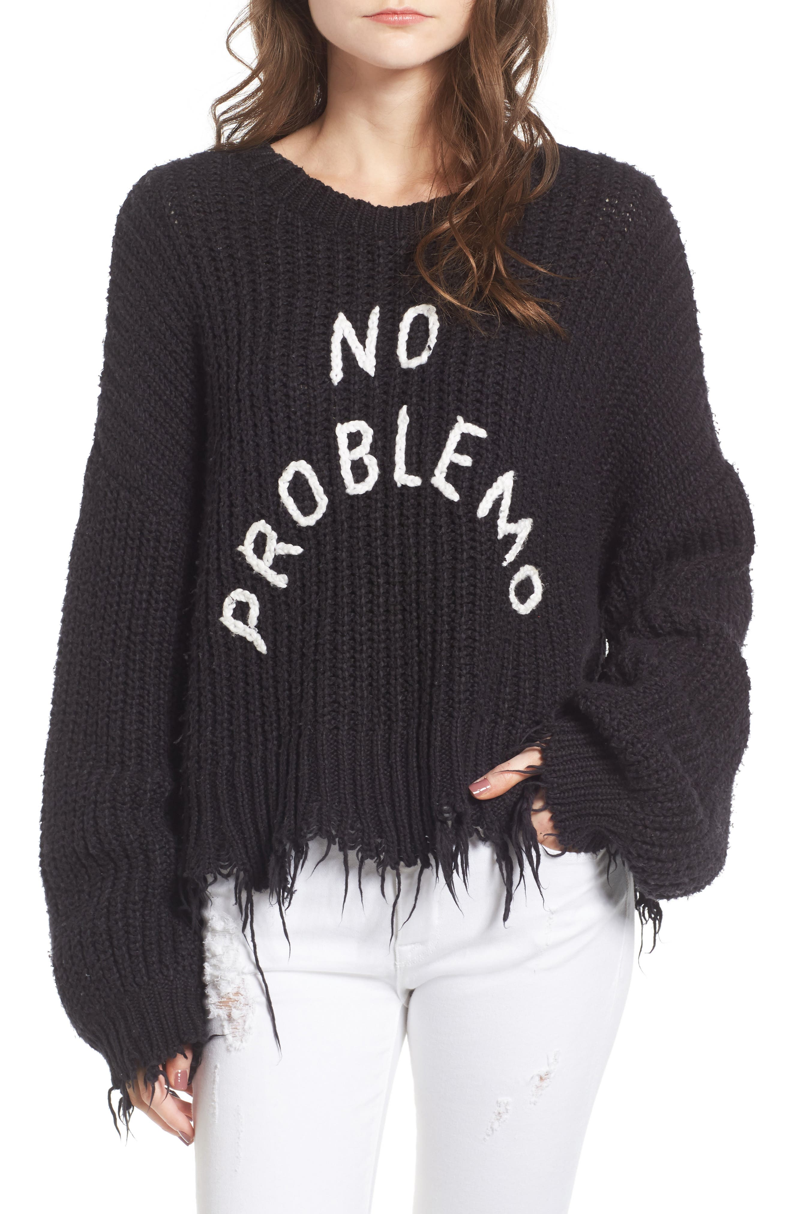 Alternate Image 1 Selected - Wildfox No Problemo Sweater