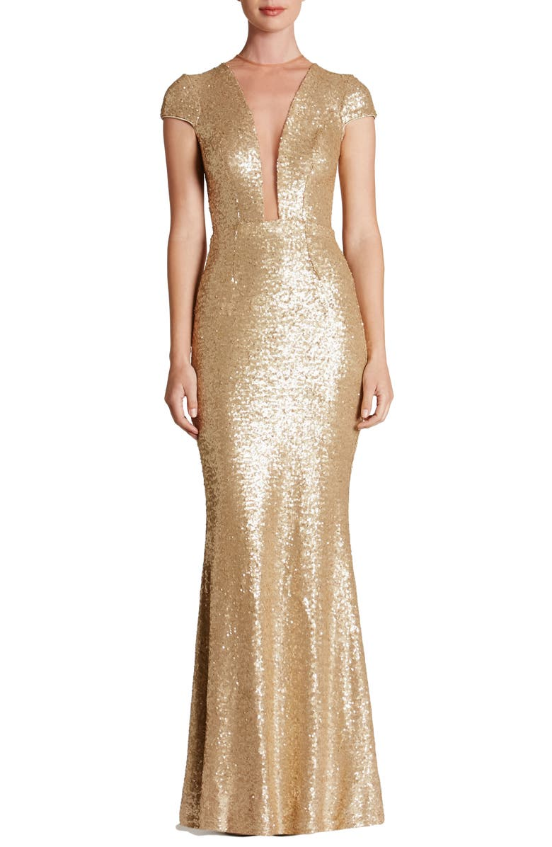 Michelle Sequin Gown