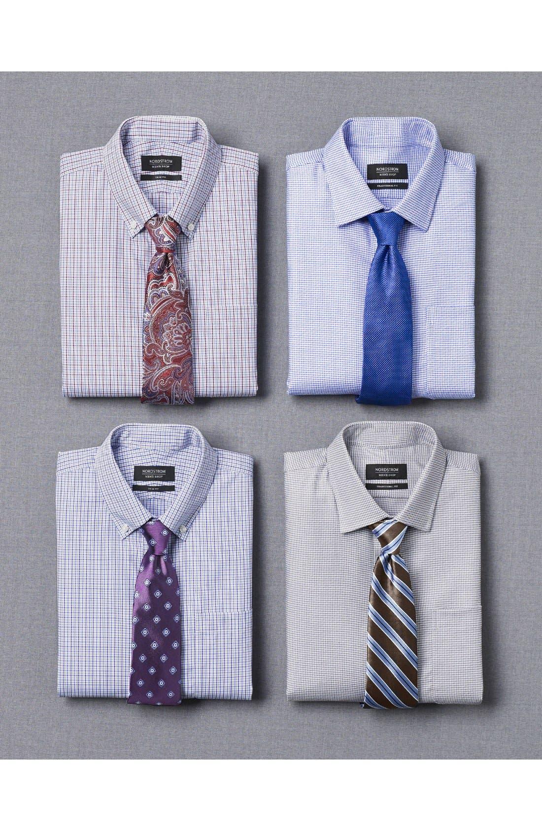 Alternate Image 6  - Nordstrom Men's Shop Solid Silk Tie