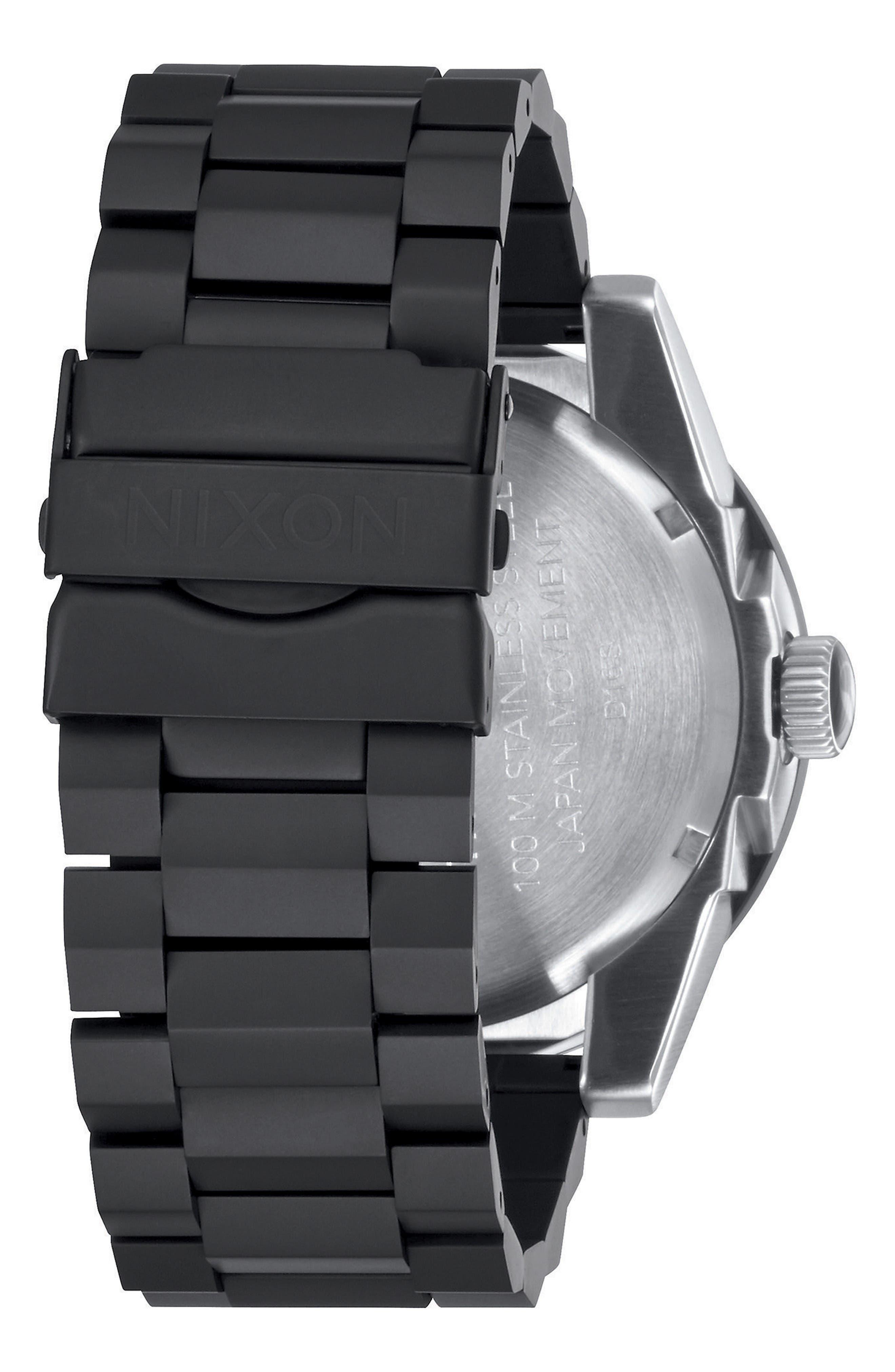 Corporal Bracelet Watch, 48mm,                             Alternate thumbnail 2, color,                             Black