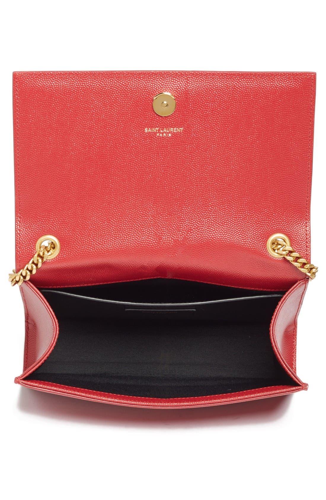 Alternate Image 3  - Saint Laurent Small Kate Calfskin Leather Crossbody Bag