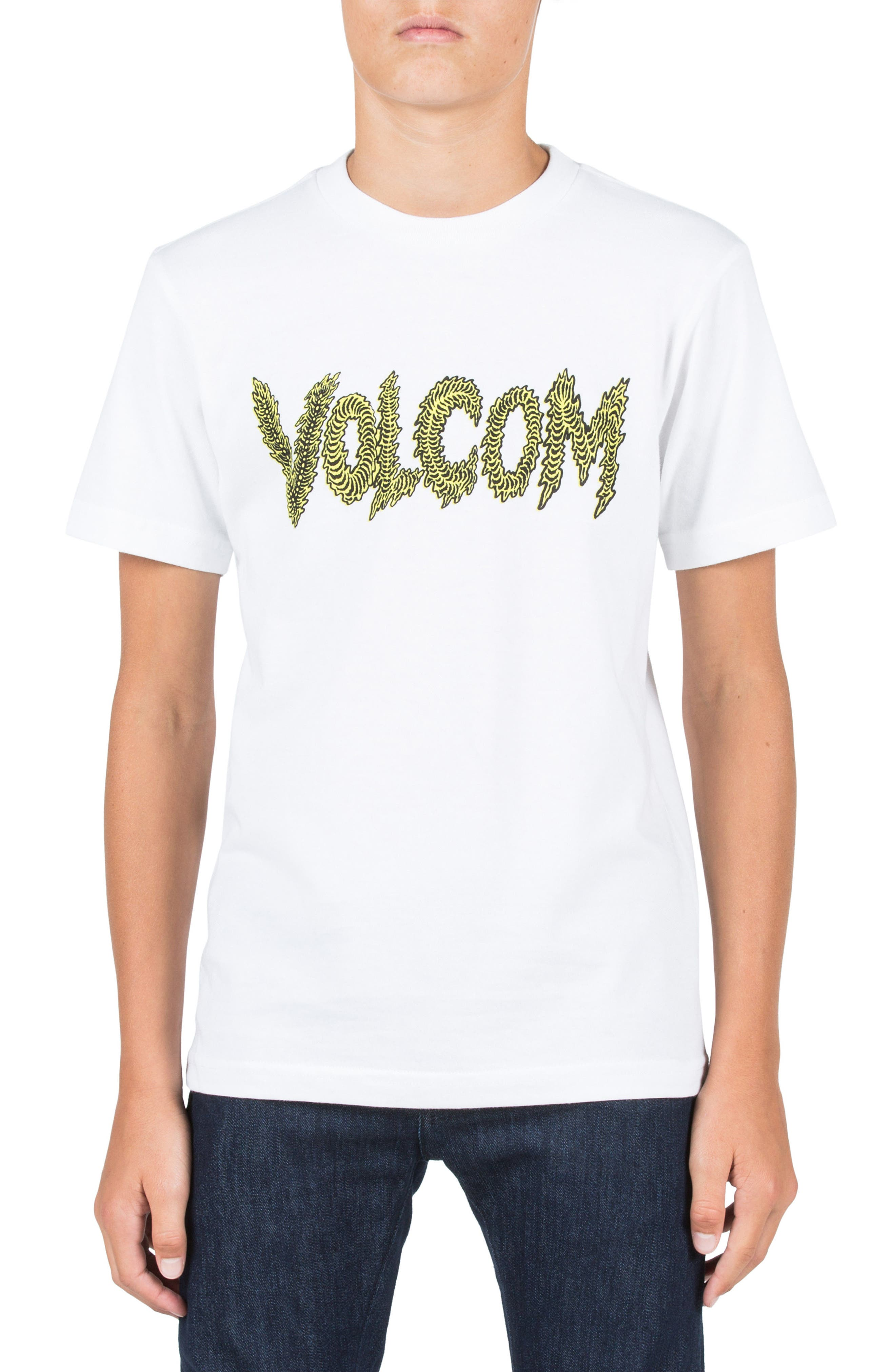 Tetsunori Stone Graphic T-Shirt,                             Main thumbnail 1, color,                             White