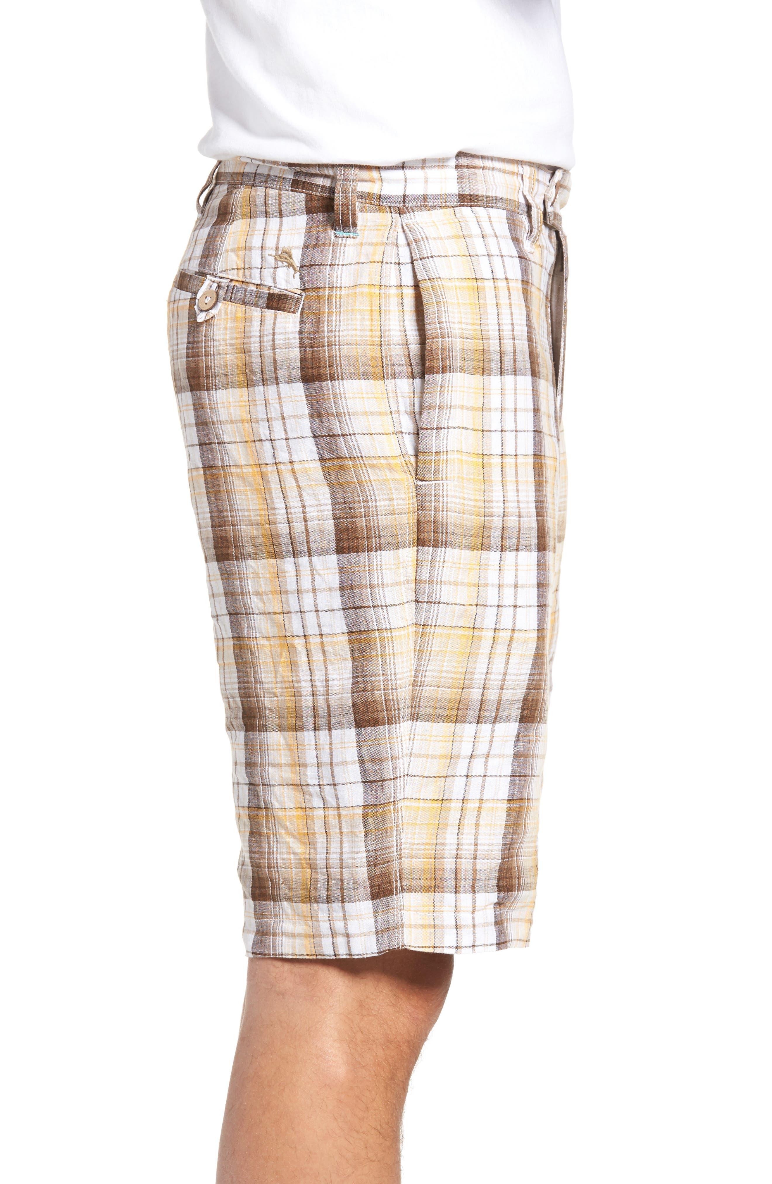 Alternate Image 3  - Tommy Bahama Island Duo Reversible Linen Shorts