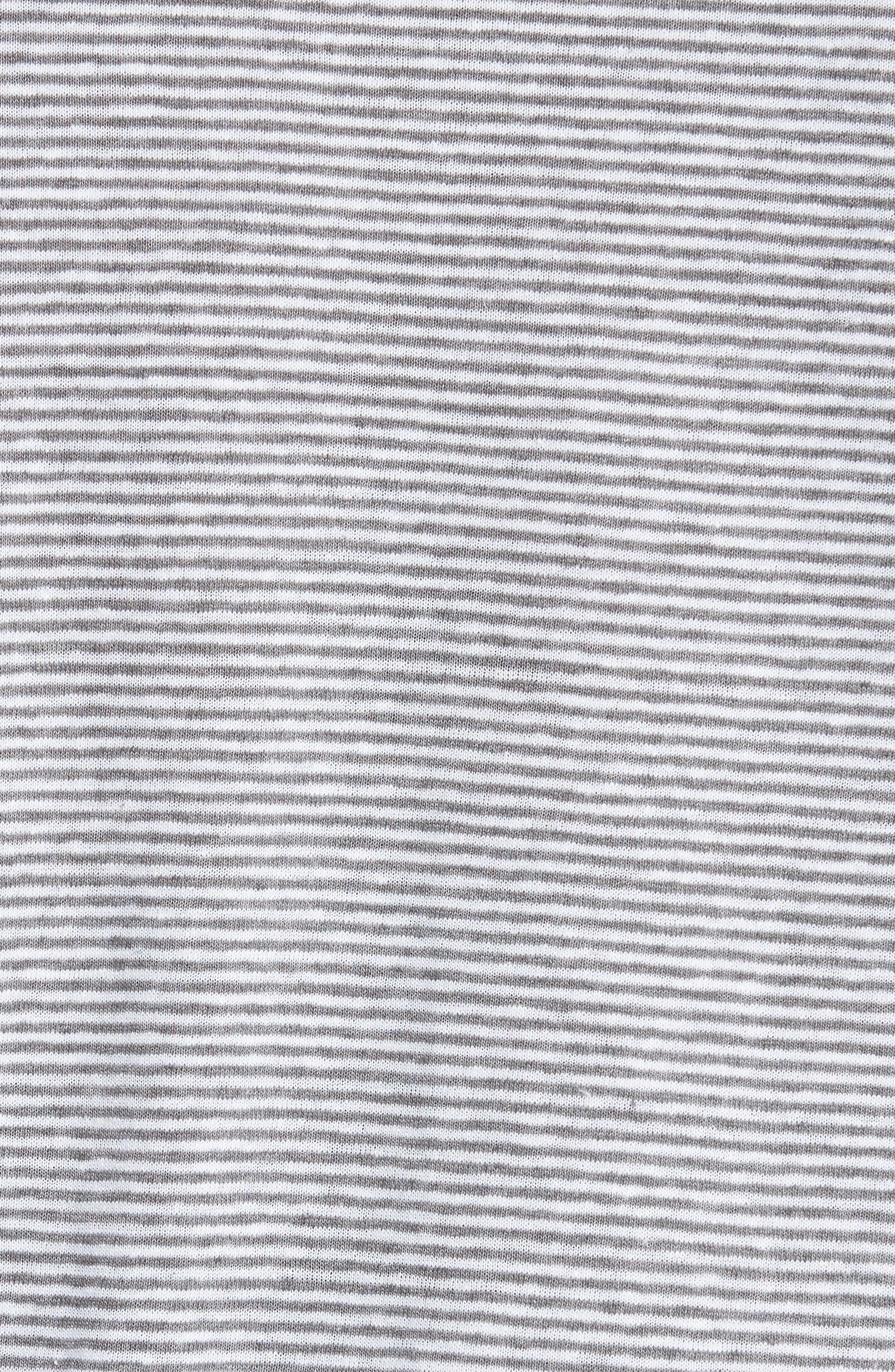 Alternate Image 5  - ONIA Linen Blend Stripe Henley