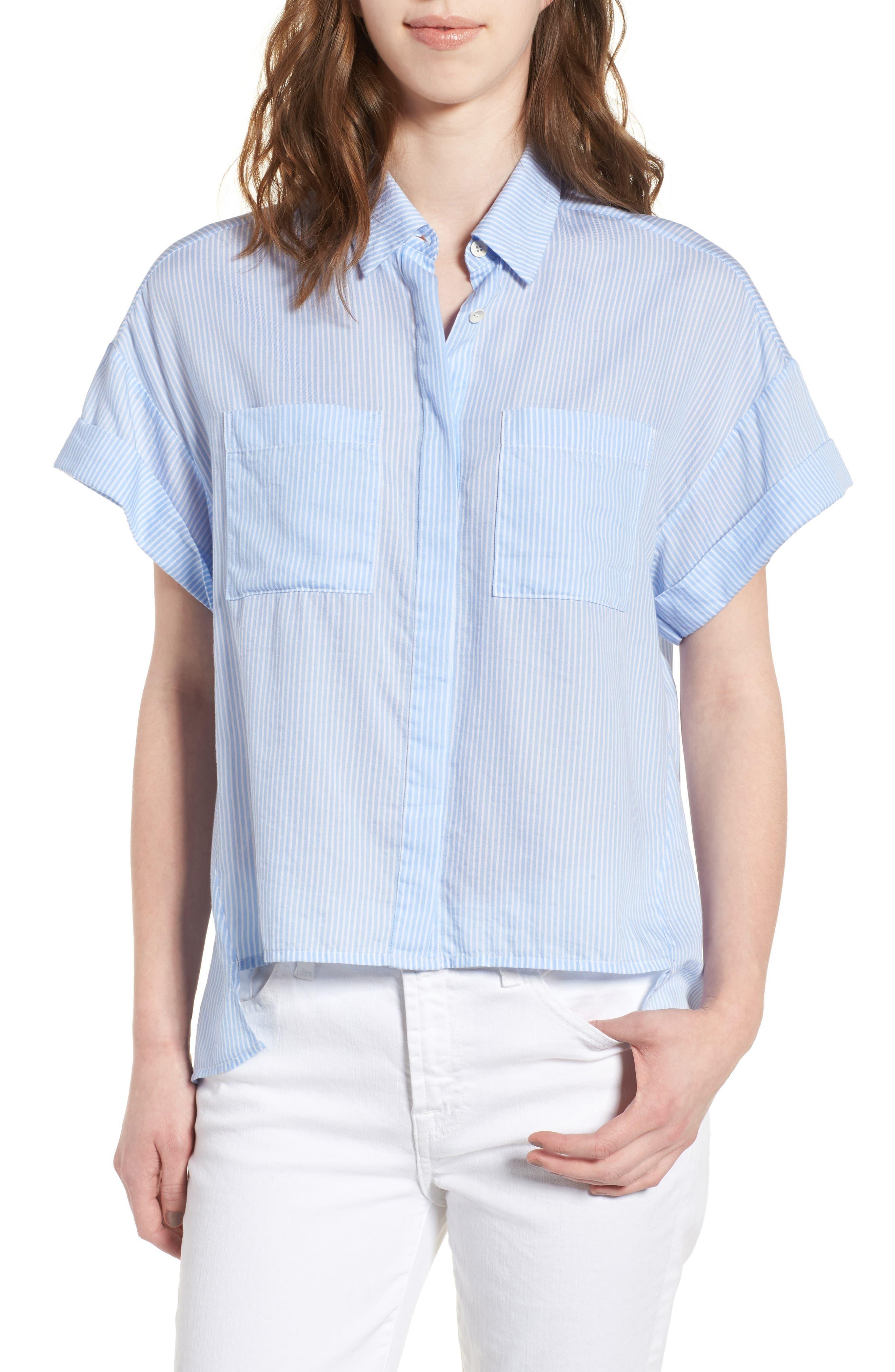DL1961 Bridgeport High/Low Shirt