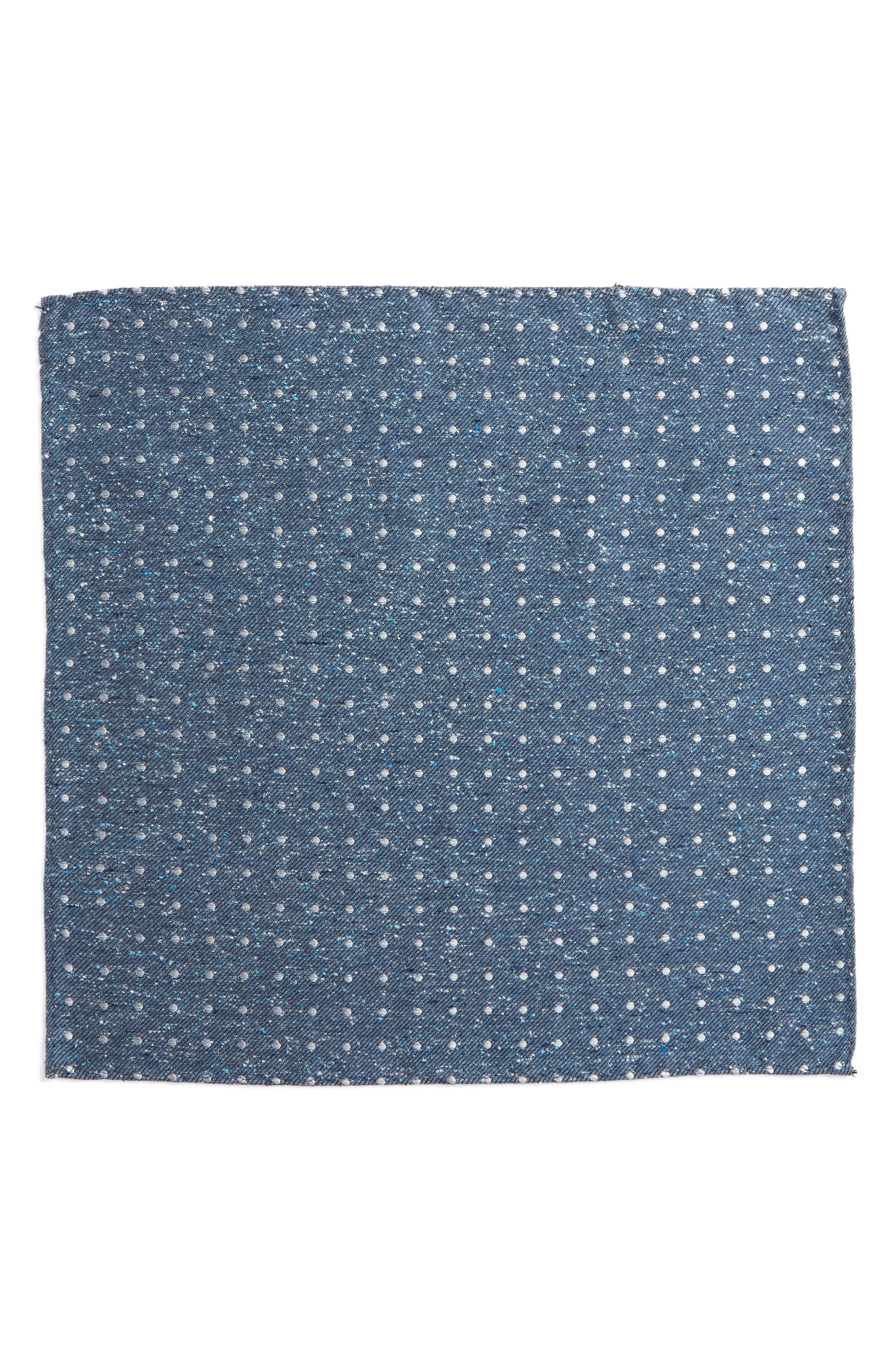 Alternate Image 3  - The Tie Bar Knotted Dots Silk Pocket Square