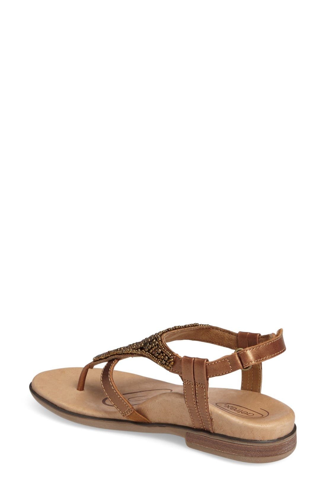 Alternate Image 2  - Aetrex Sheila Embellished Sandal (Women)