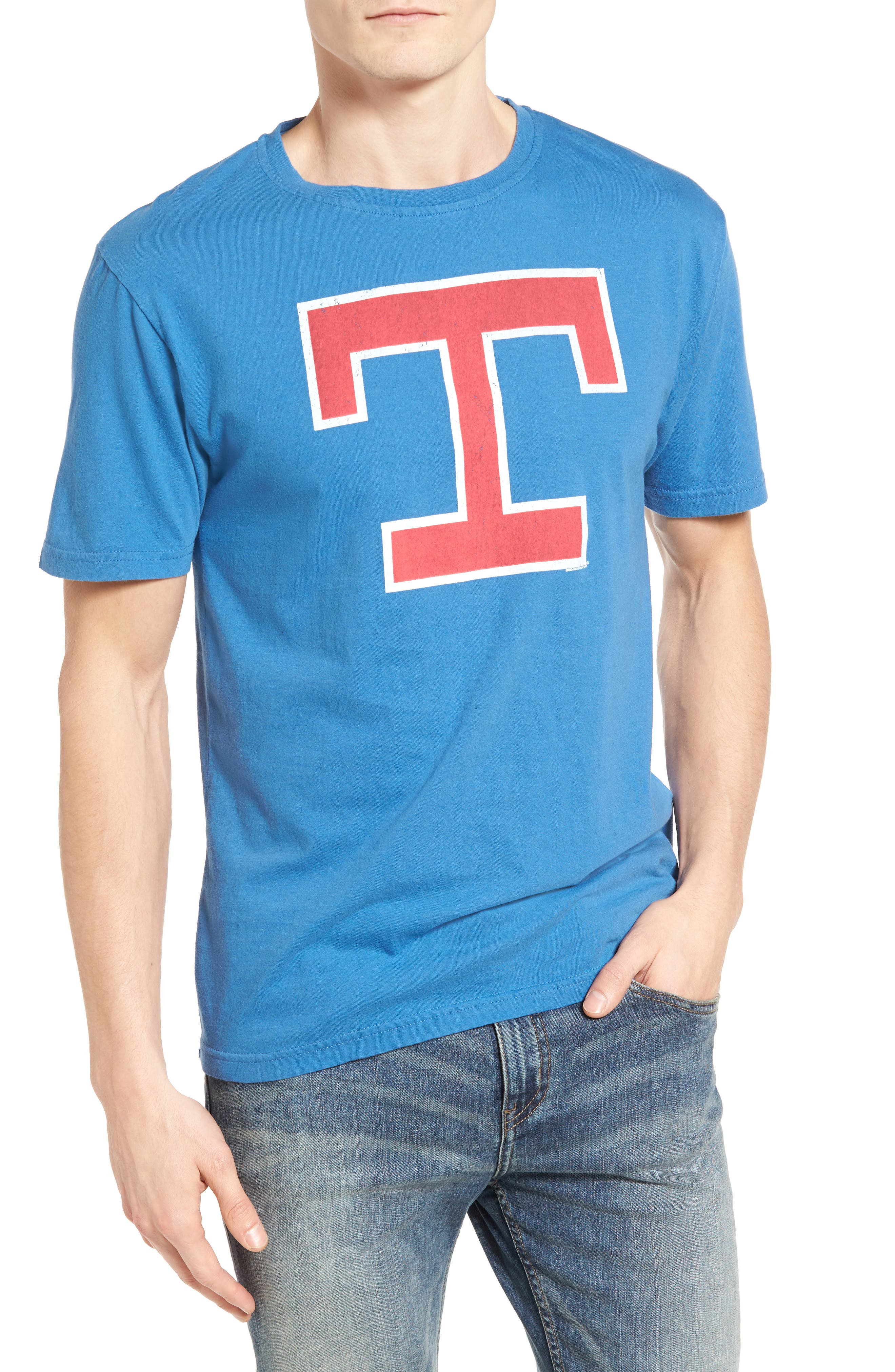 AMERICAN NEEDLE Brass Tack Texas Rangers T-Shirt