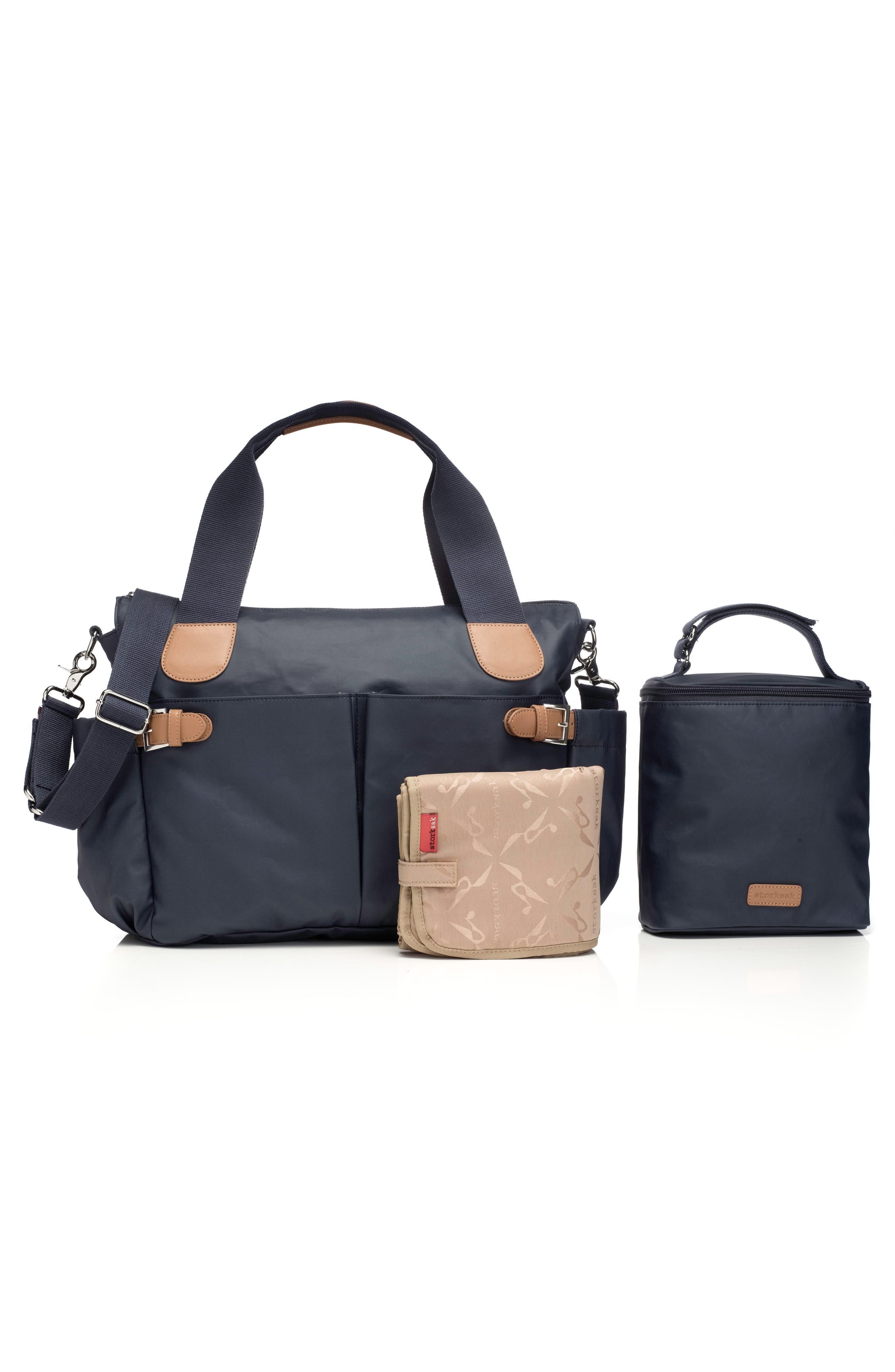 Alternate Image 3  - Storksak 'Kay' Diaper Bag