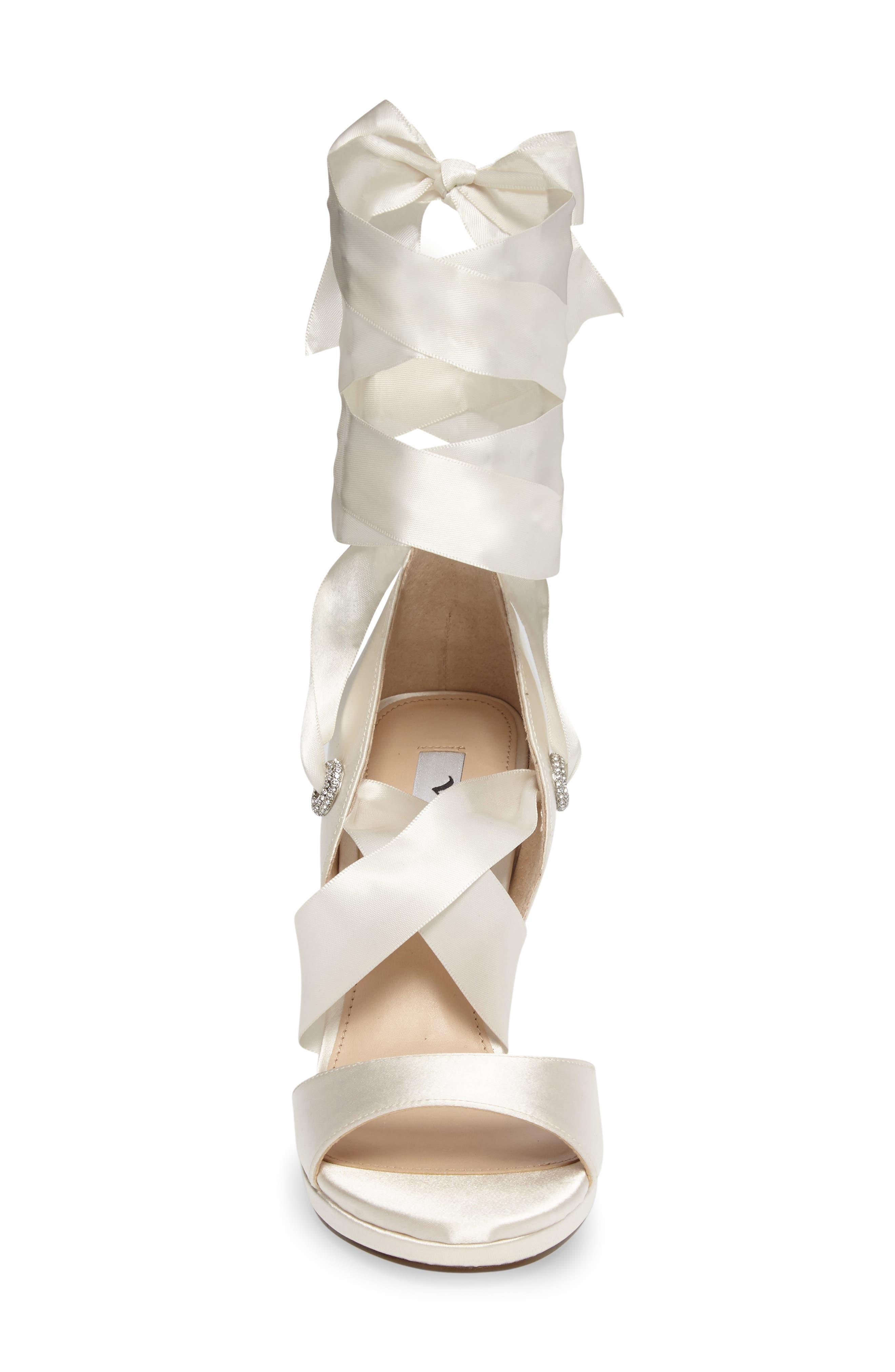 Alternate Image 4  - Nina Ramira Ankle Tie Sandal (Women)